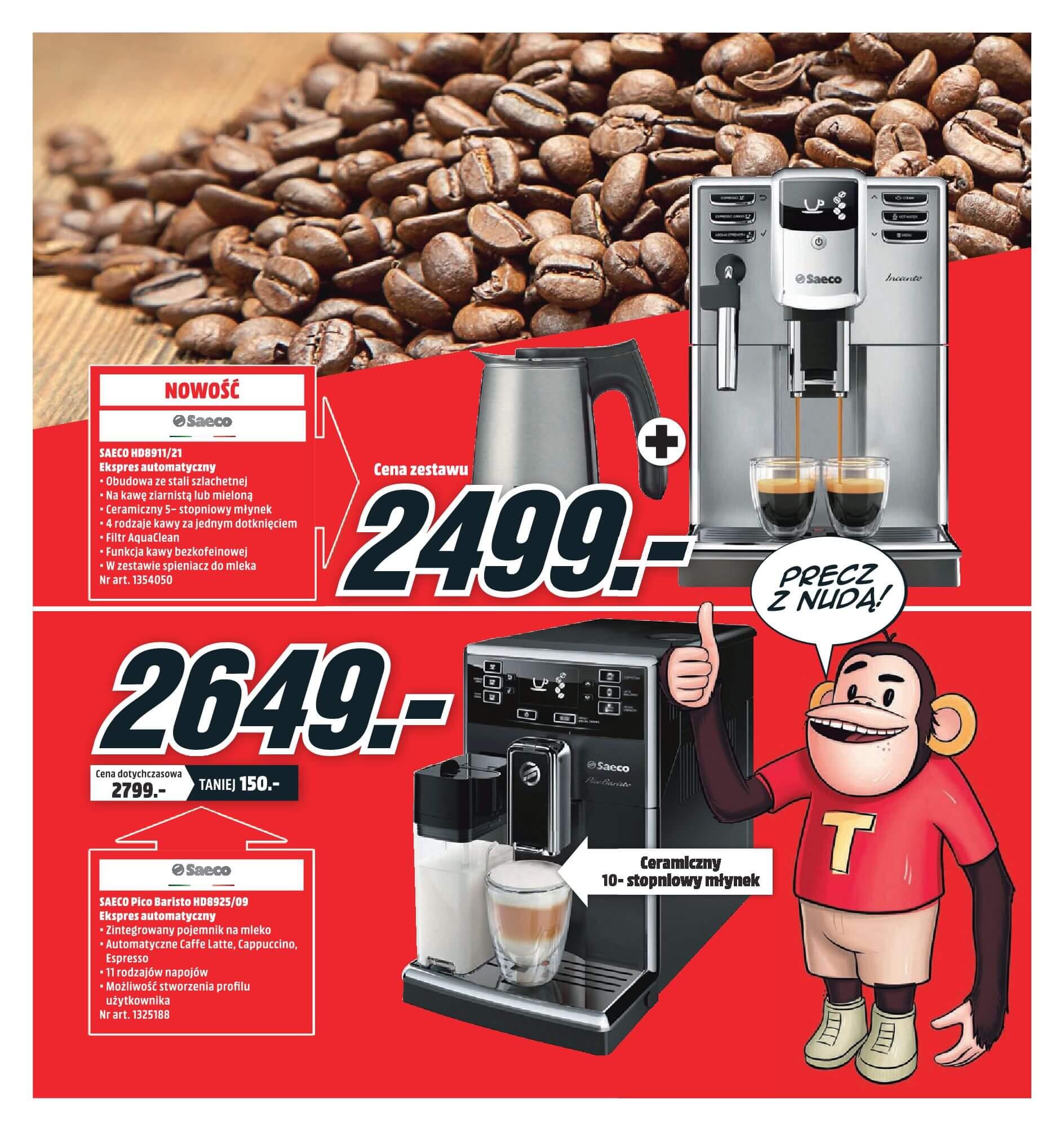 Gazetka Media Markt - Oferta na ekspresy do kawy, blendery, odkurzacze-2017-11-19-2017-12-10-page-4
