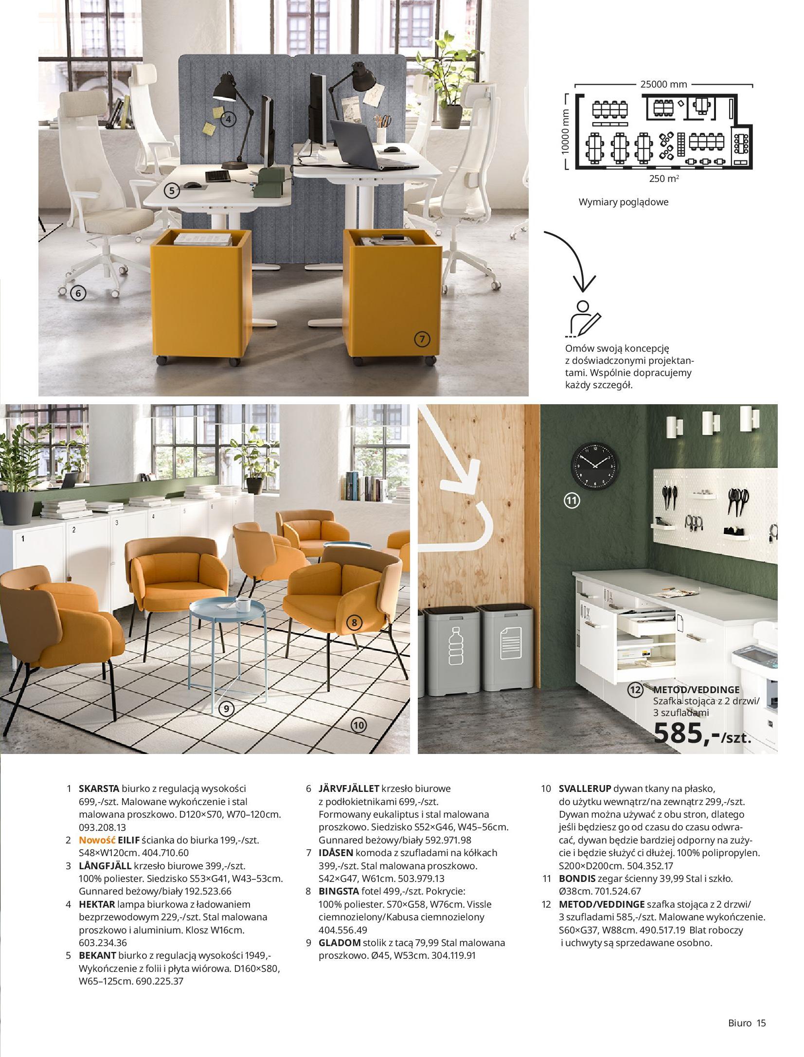 Gazetka IKEA: IKEA dla Firm 2021 2021-01-13 page-15