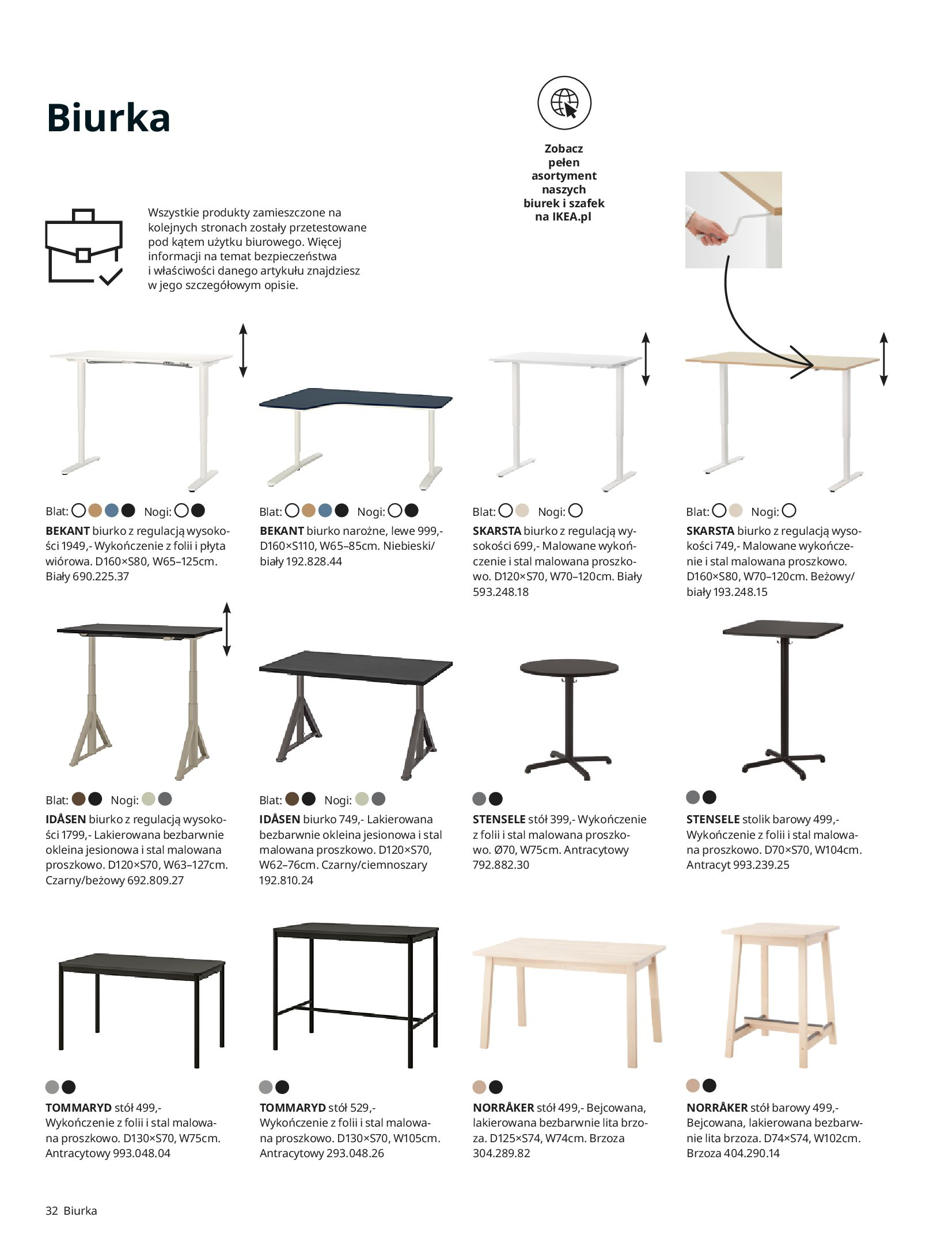 Gazetka IKEA: IKEA dla Firm 2021 2021-01-13 page-32