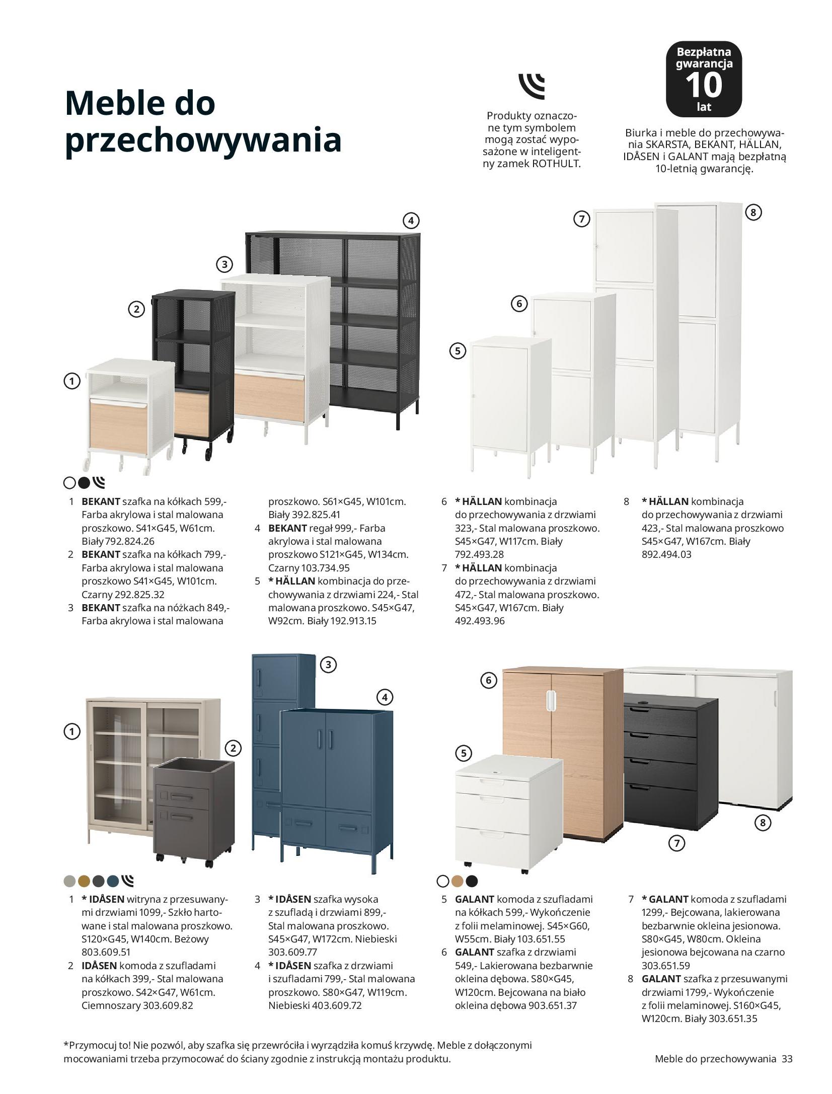 Gazetka IKEA: IKEA dla Firm 2021 2021-01-13 page-33