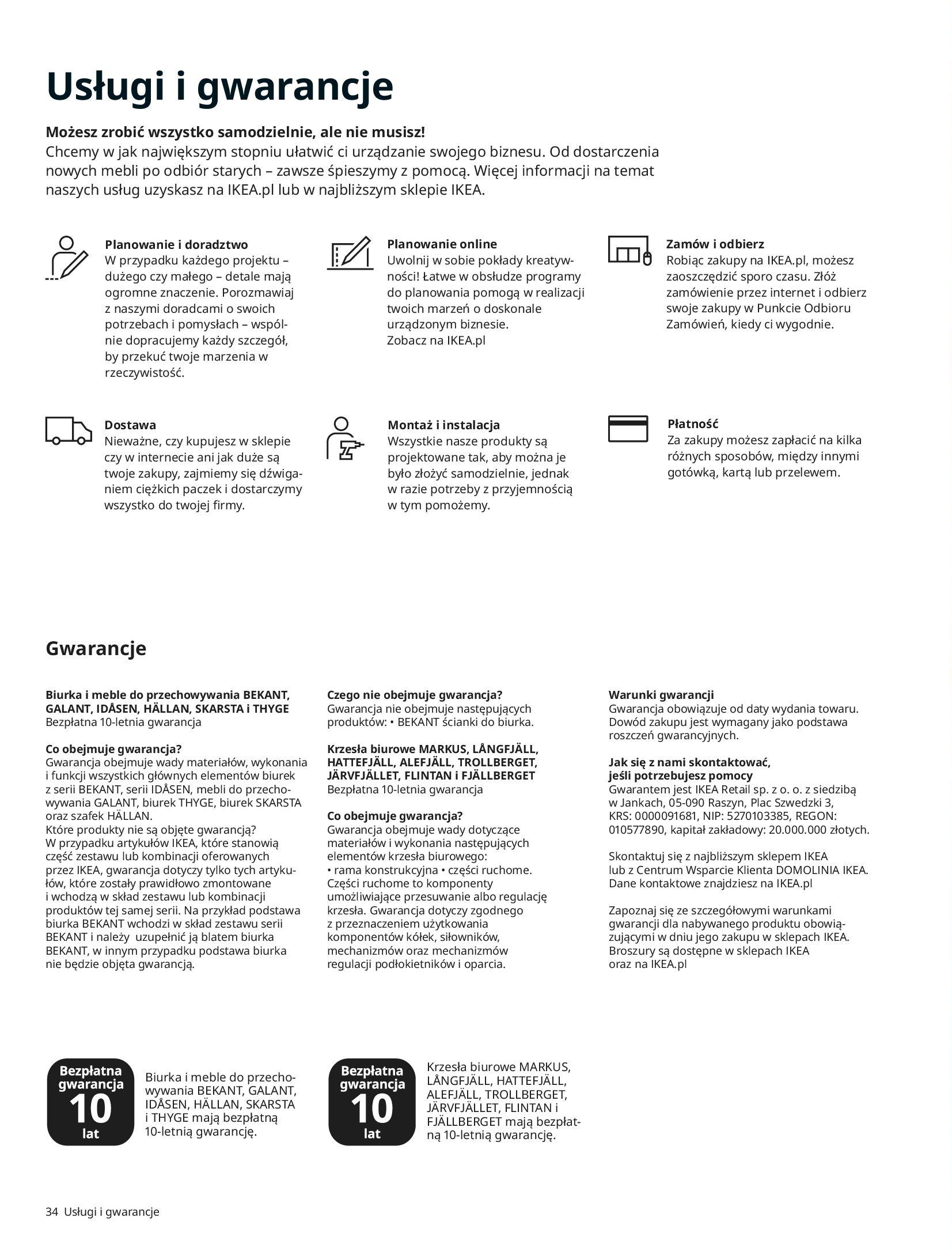 Gazetka IKEA: IKEA dla Firm 2021 2021-01-13 page-34