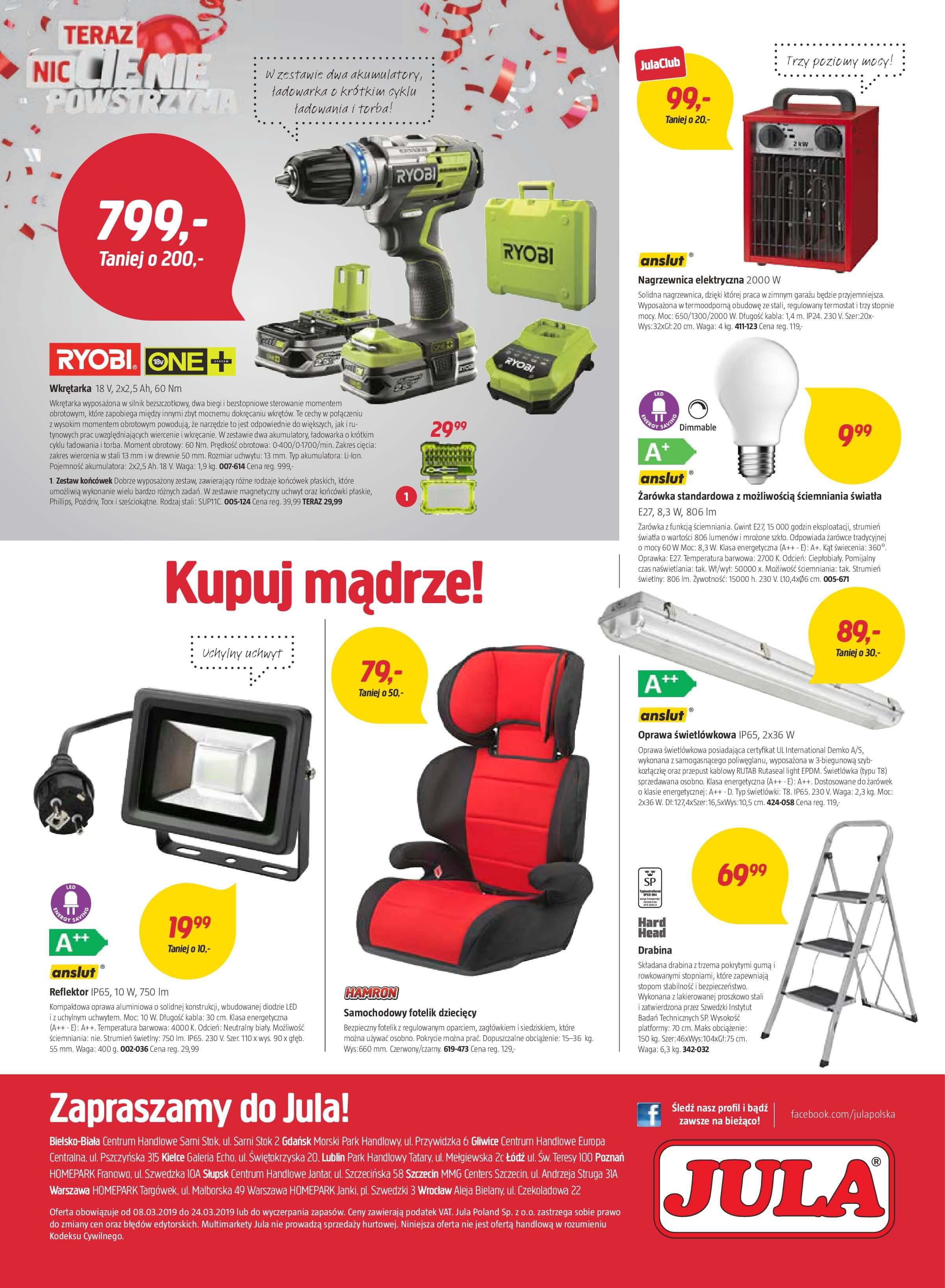 Gazetka Jula - Jula 40 Lat-07.03.2019-24.03.2019-page-