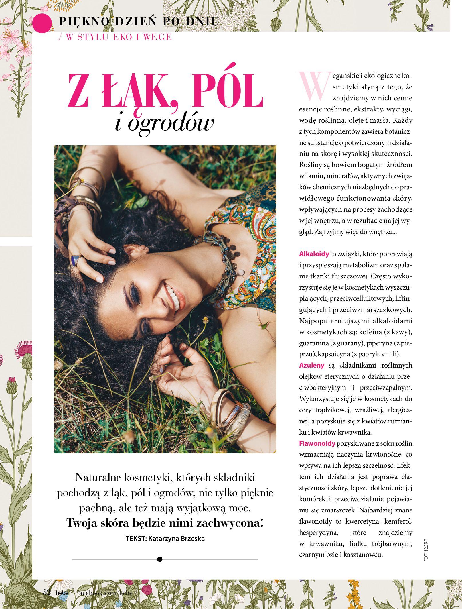 Gazetka hebe: Magazyn Hebe - Trendy na lato 2021-07-01 page-52