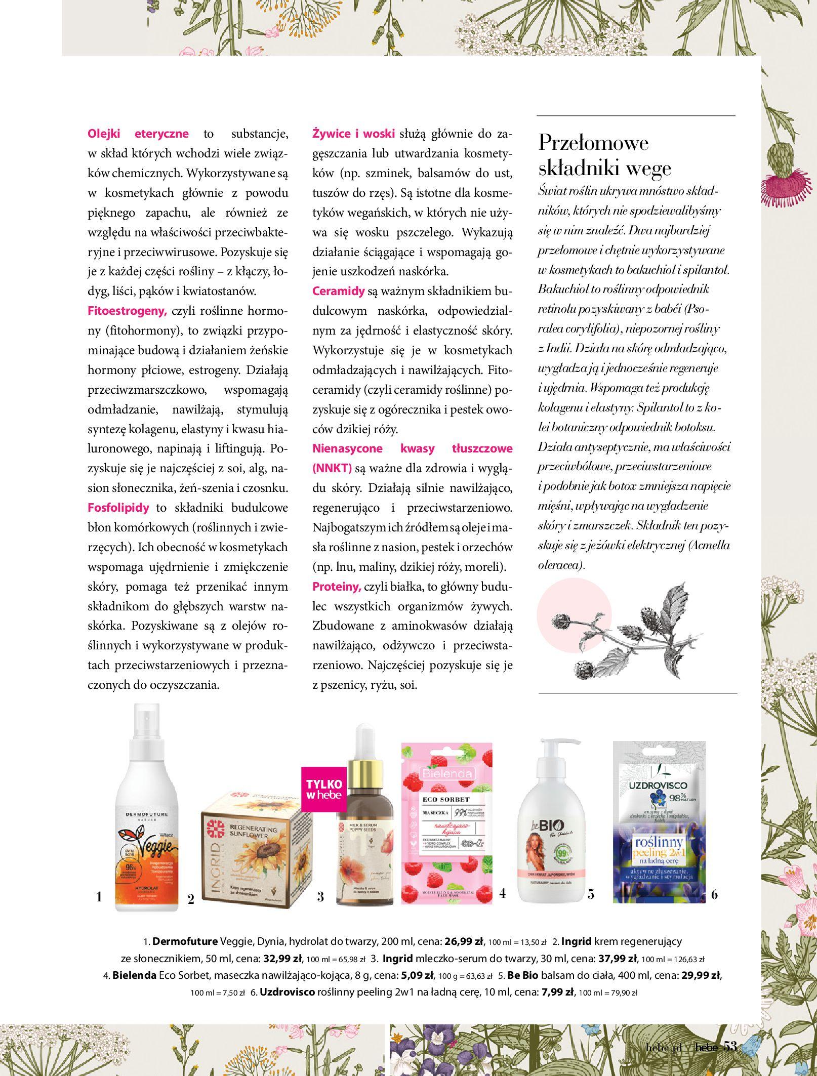 Gazetka hebe: Magazyn Hebe - Trendy na lato 2021-07-01 page-53