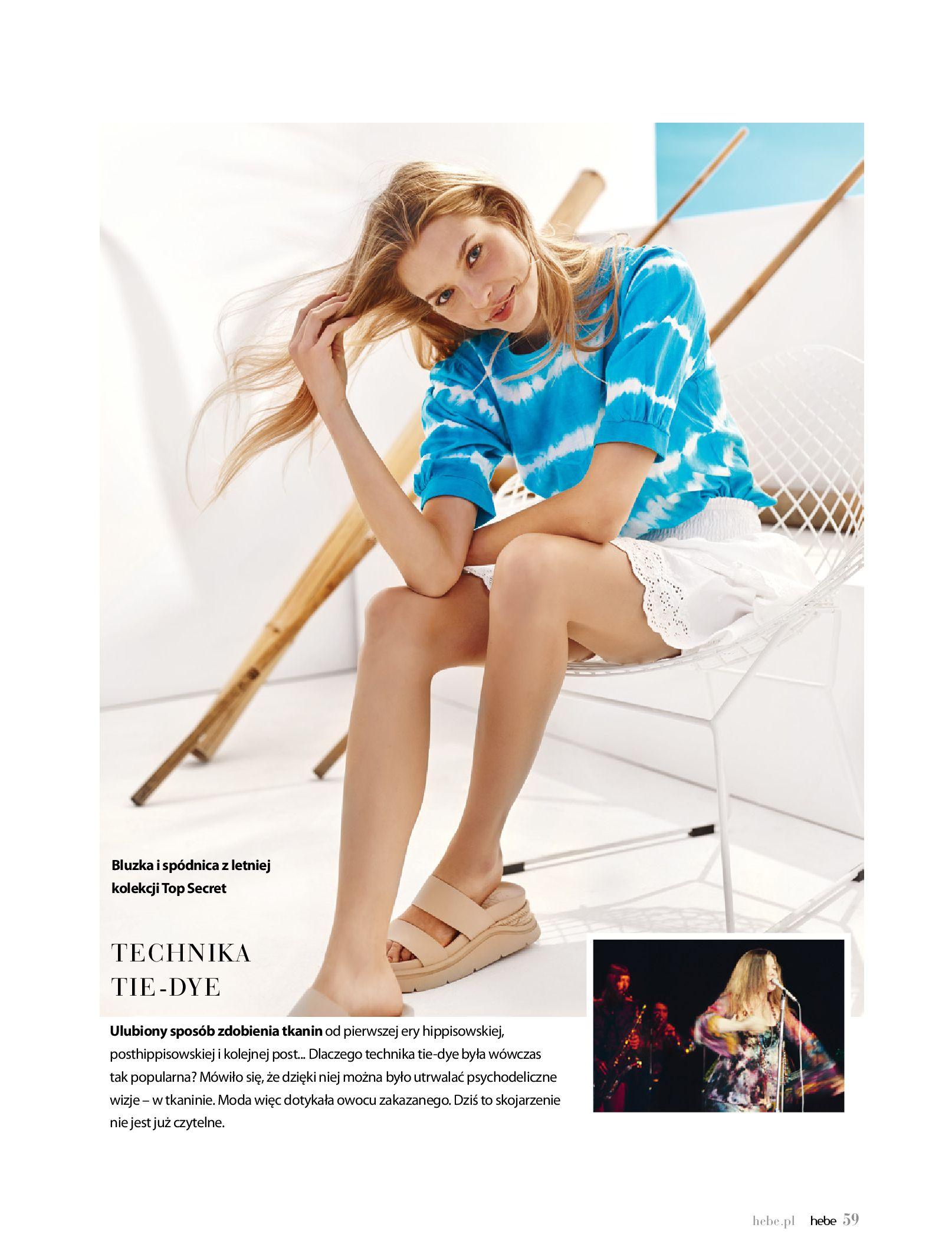 Gazetka hebe: Magazyn Hebe - Trendy na lato 2021-07-01 page-59