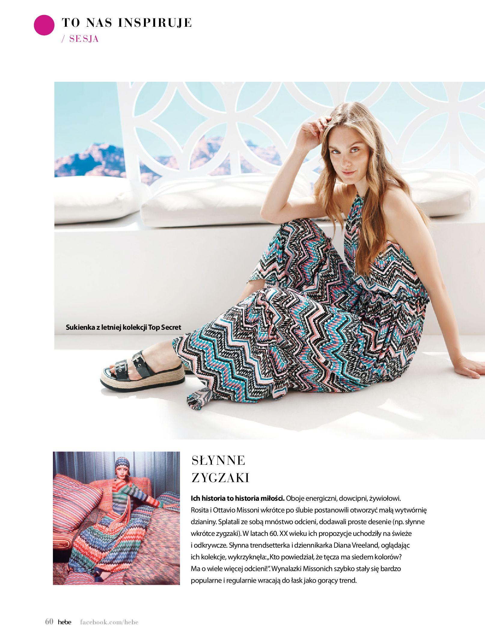 Gazetka hebe: Magazyn Hebe - Trendy na lato 2021-07-01 page-60