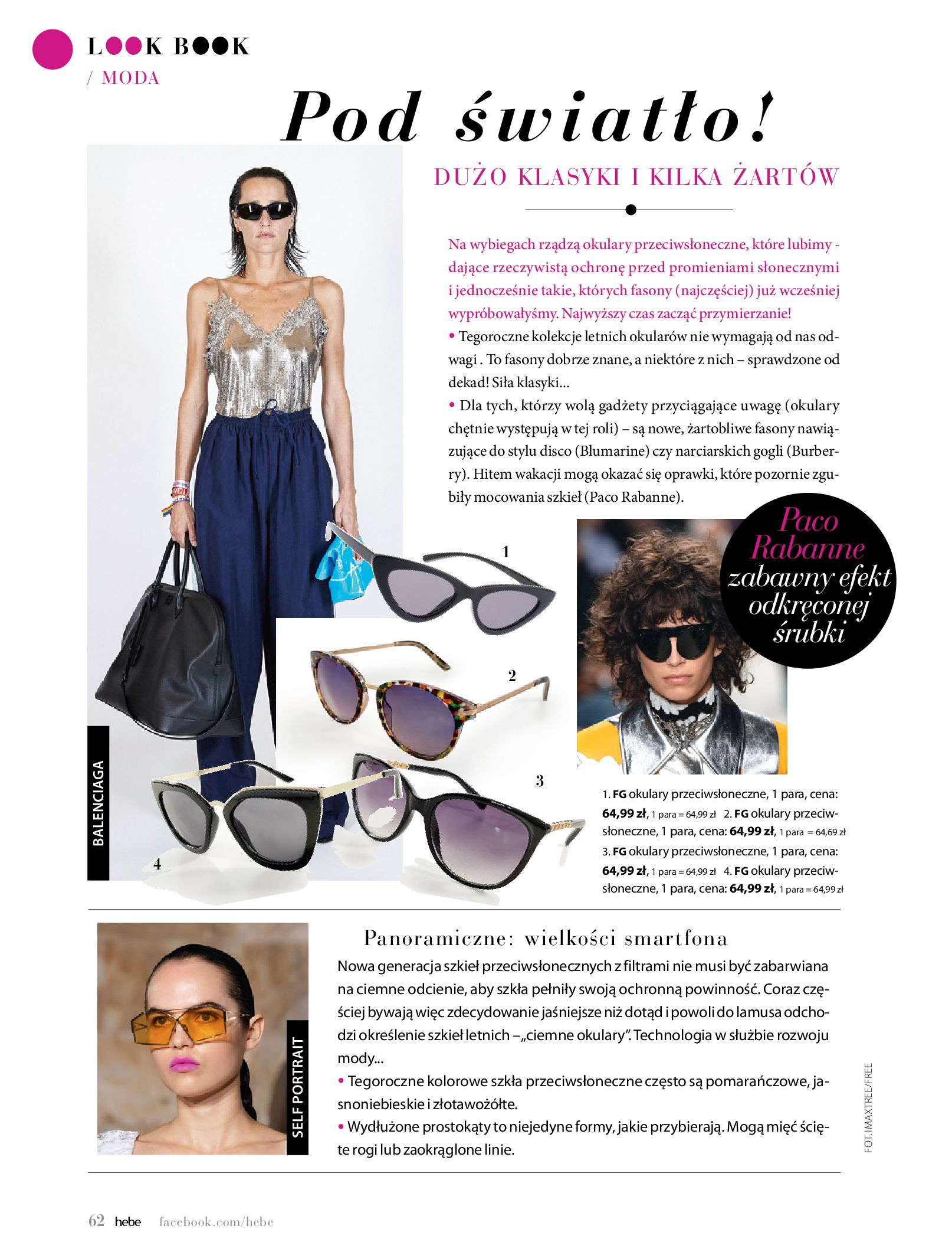Gazetka hebe: Magazyn Hebe - Trendy na lato 2021-07-01 page-62