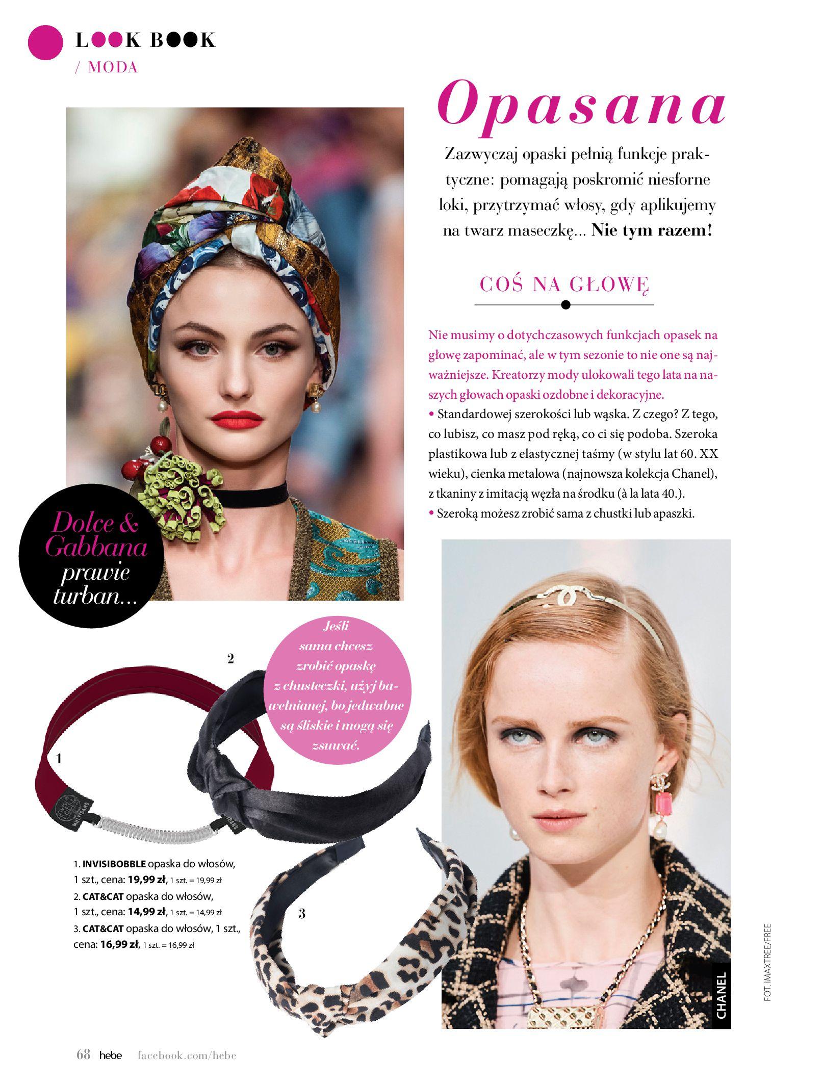 Gazetka hebe: Magazyn Hebe - Trendy na lato 2021-07-01 page-68