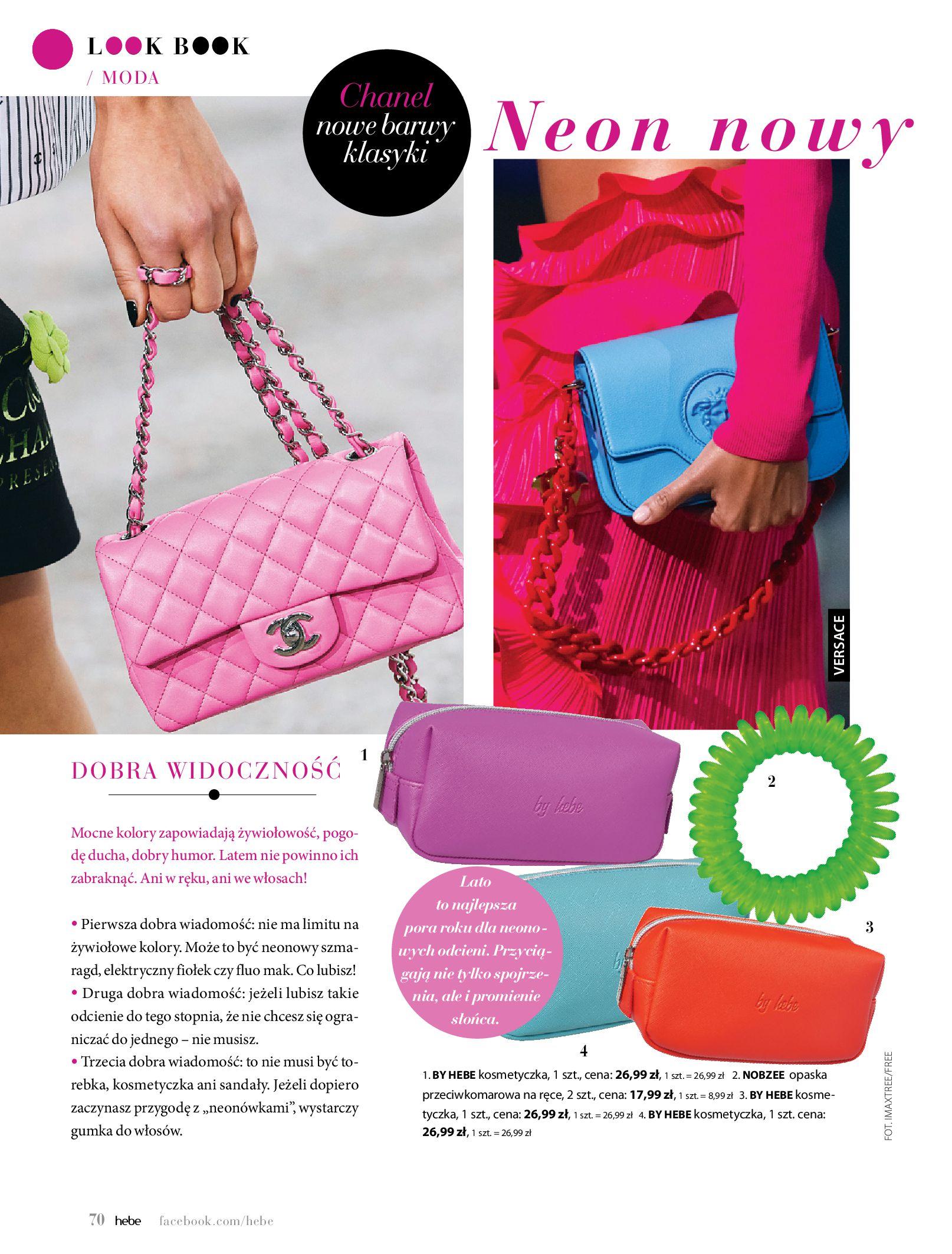 Gazetka hebe: Magazyn Hebe - Trendy na lato 2021-07-01 page-70