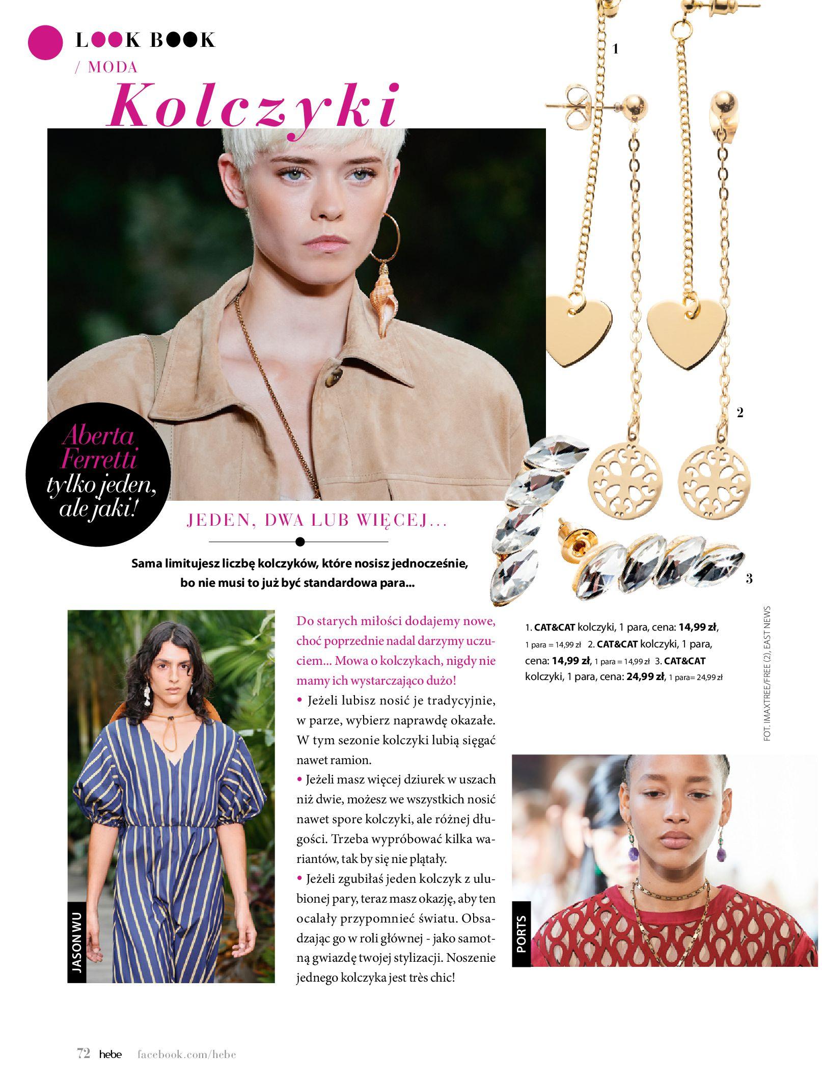 Gazetka hebe: Magazyn Hebe - Trendy na lato 2021-07-01 page-72