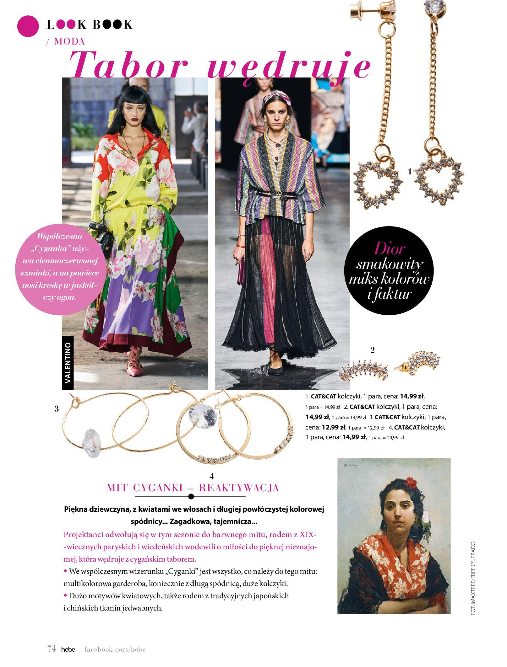 Gazetka hebe: Magazyn Hebe - Trendy na lato 2021-07-01 page-74