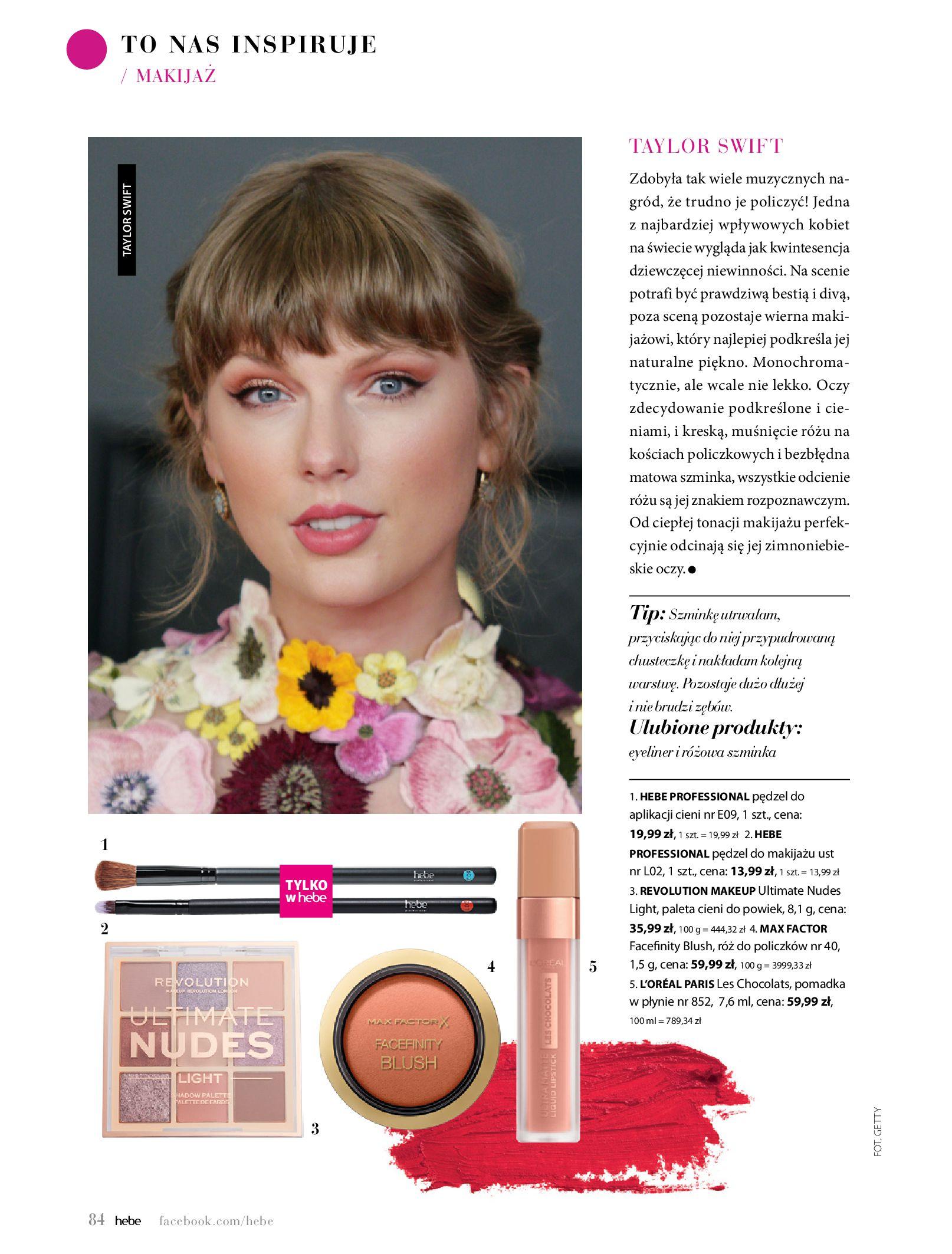 Gazetka hebe: Magazyn Hebe - Trendy na lato 2021-07-01 page-84
