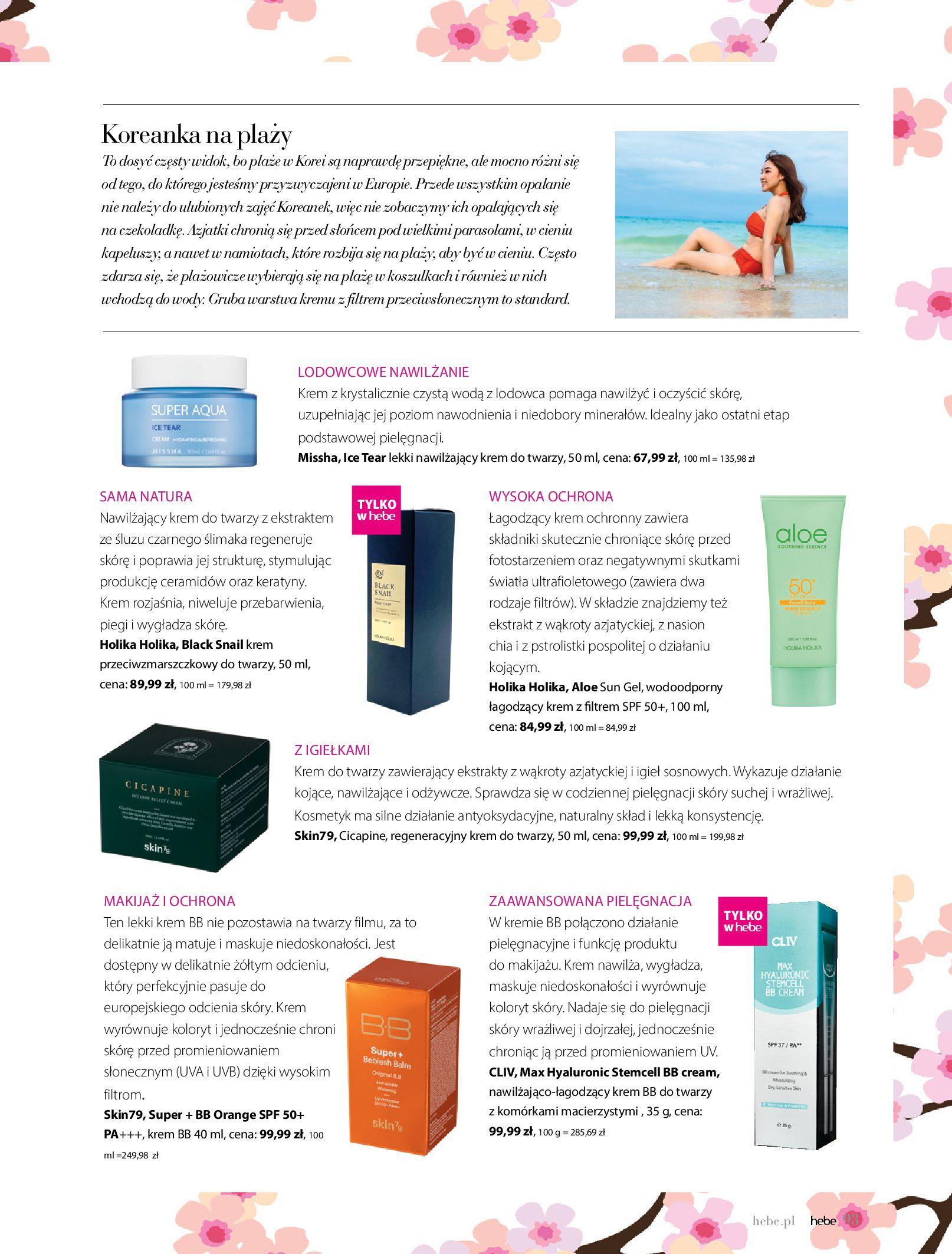 Gazetka hebe: Magazyn Hebe - Trendy na lato 2021-07-01 page-93