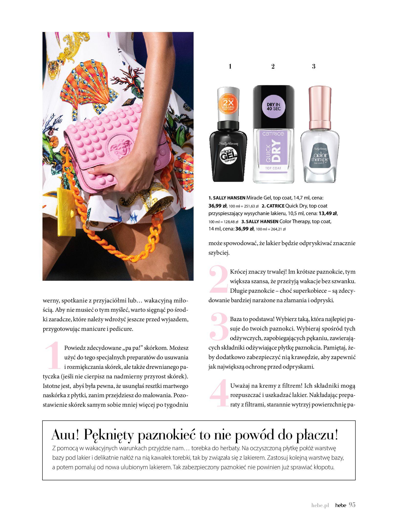 Gazetka hebe: Magazyn Hebe - Trendy na lato 2021-07-01 page-95