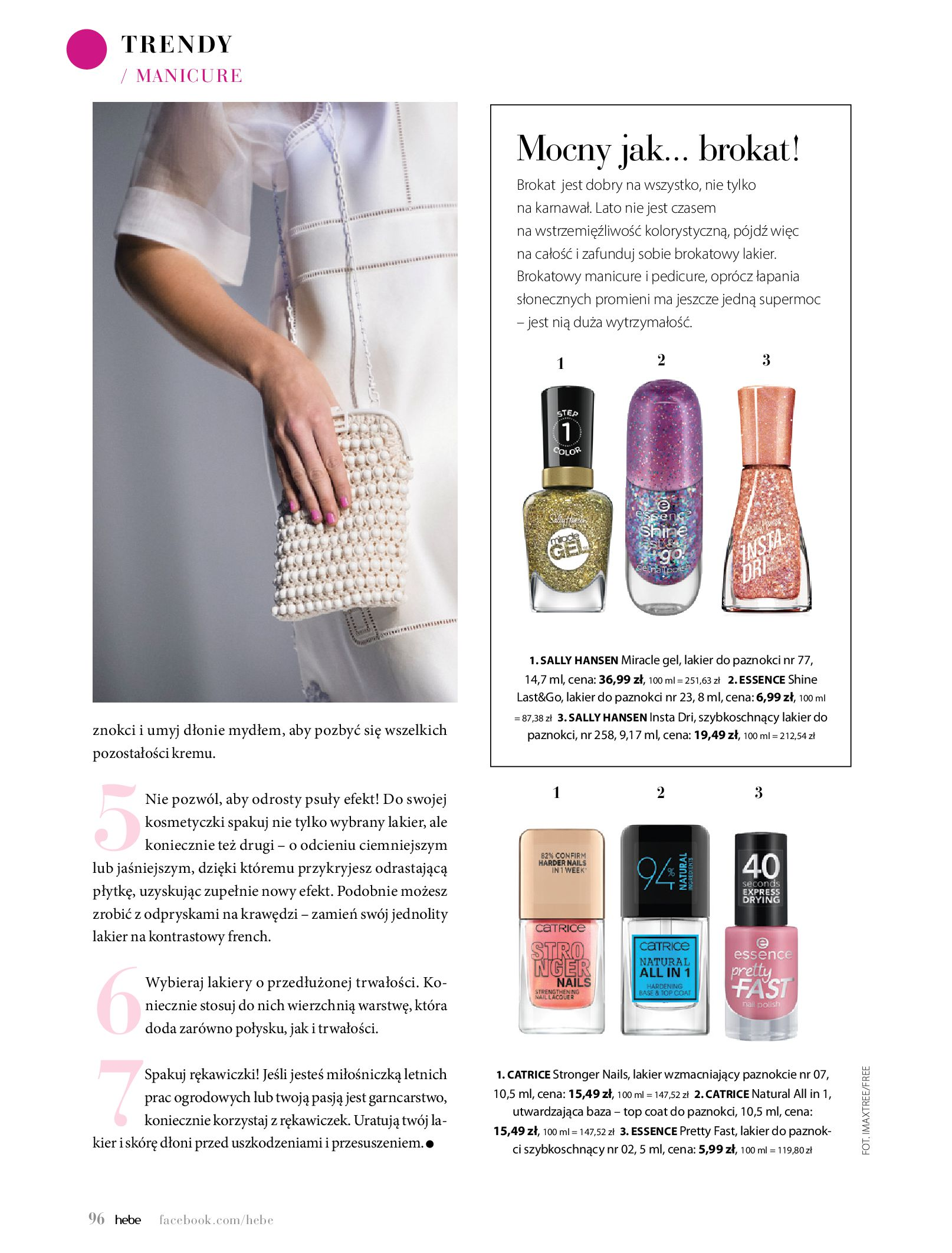 Gazetka hebe: Magazyn Hebe - Trendy na lato 2021-07-01 page-96