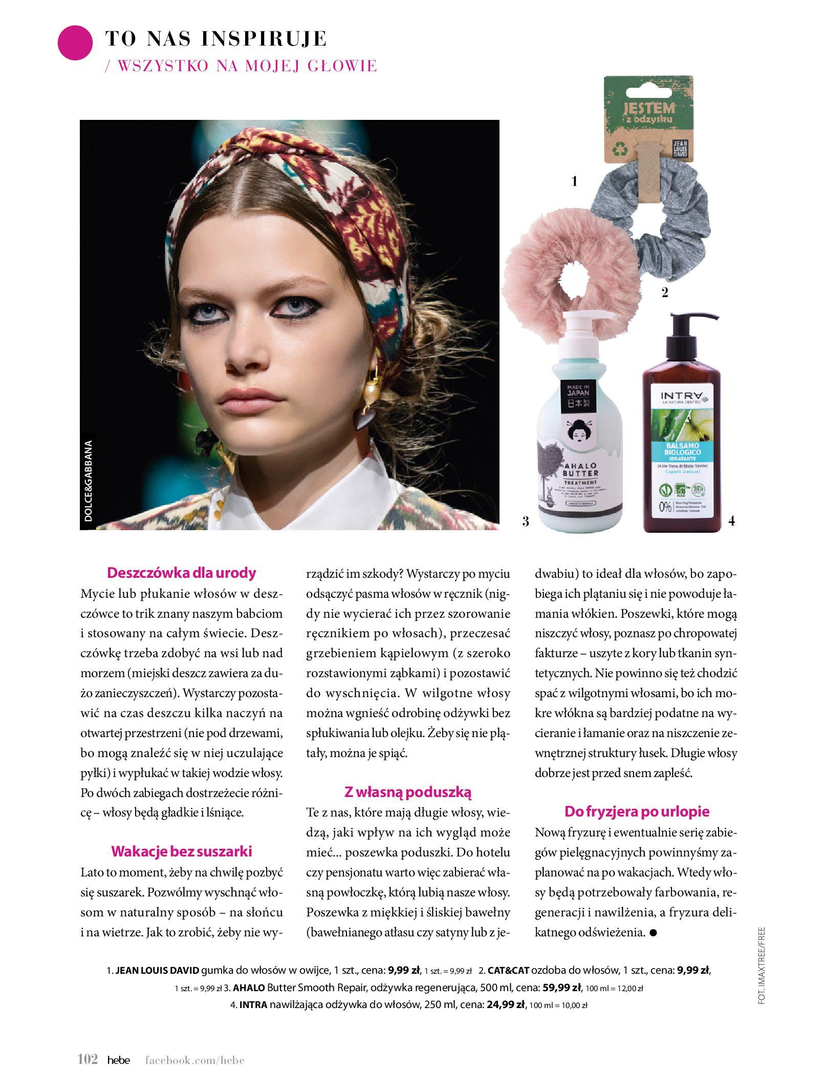 Gazetka hebe: Magazyn Hebe - Trendy na lato 2021-07-01 page-102