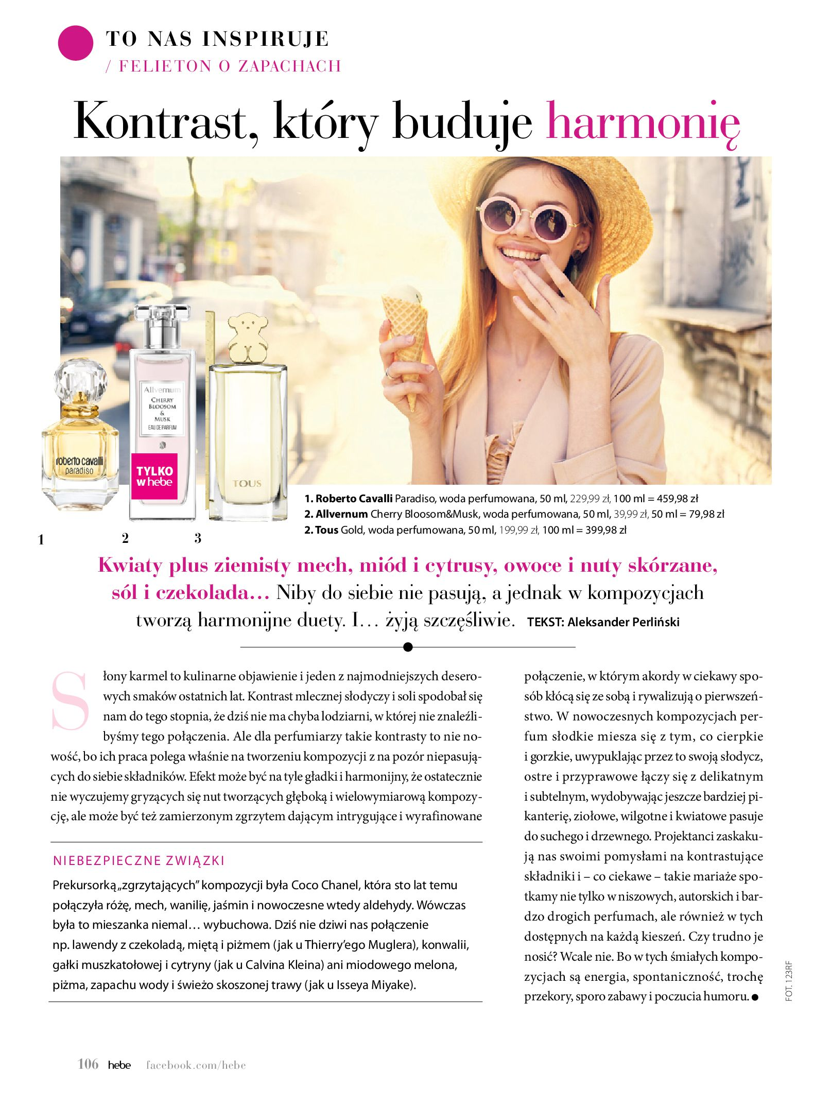 Gazetka hebe: Magazyn Hebe - Trendy na lato 2021-07-01 page-106