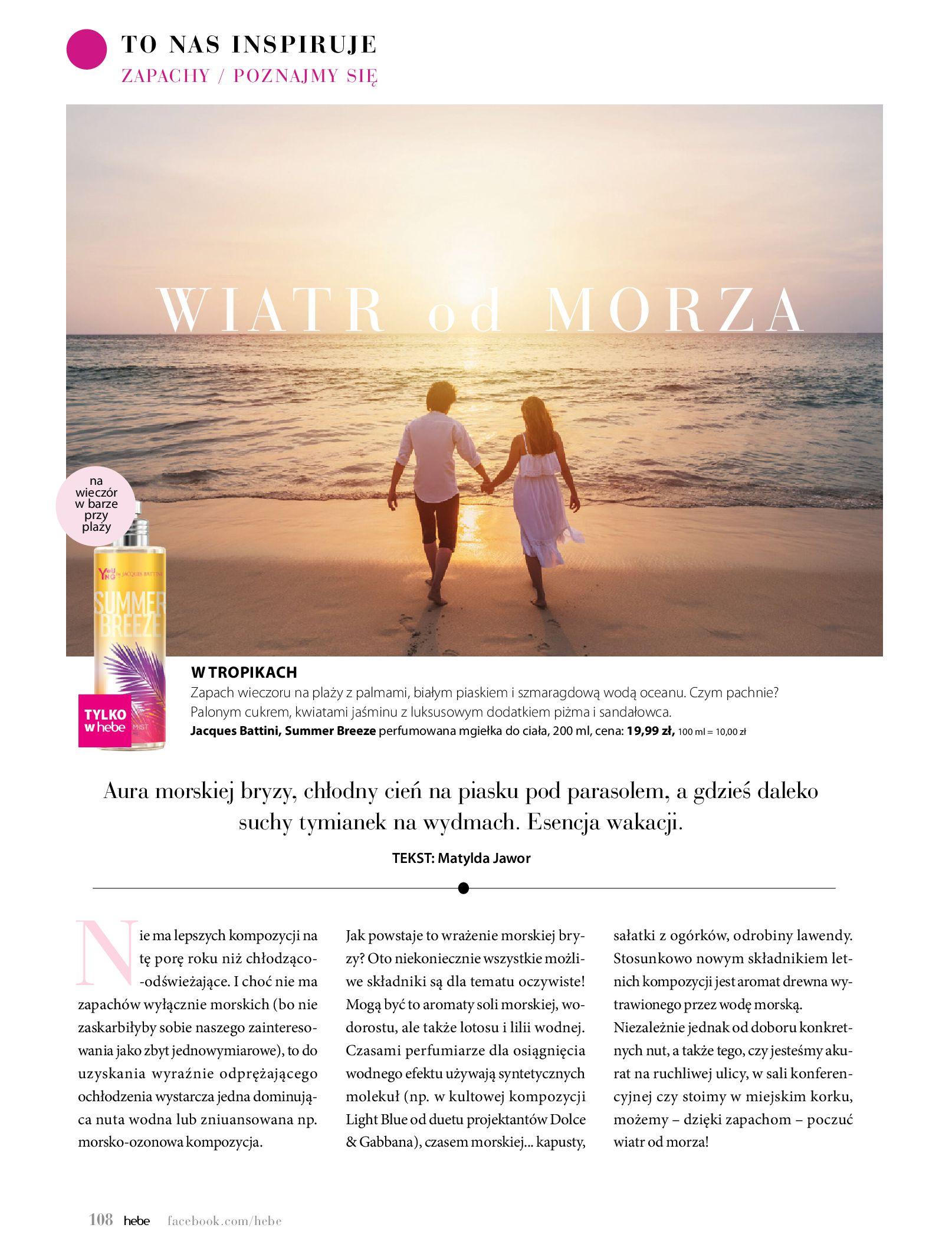 Gazetka hebe: Magazyn Hebe - Trendy na lato 2021-07-01 page-108