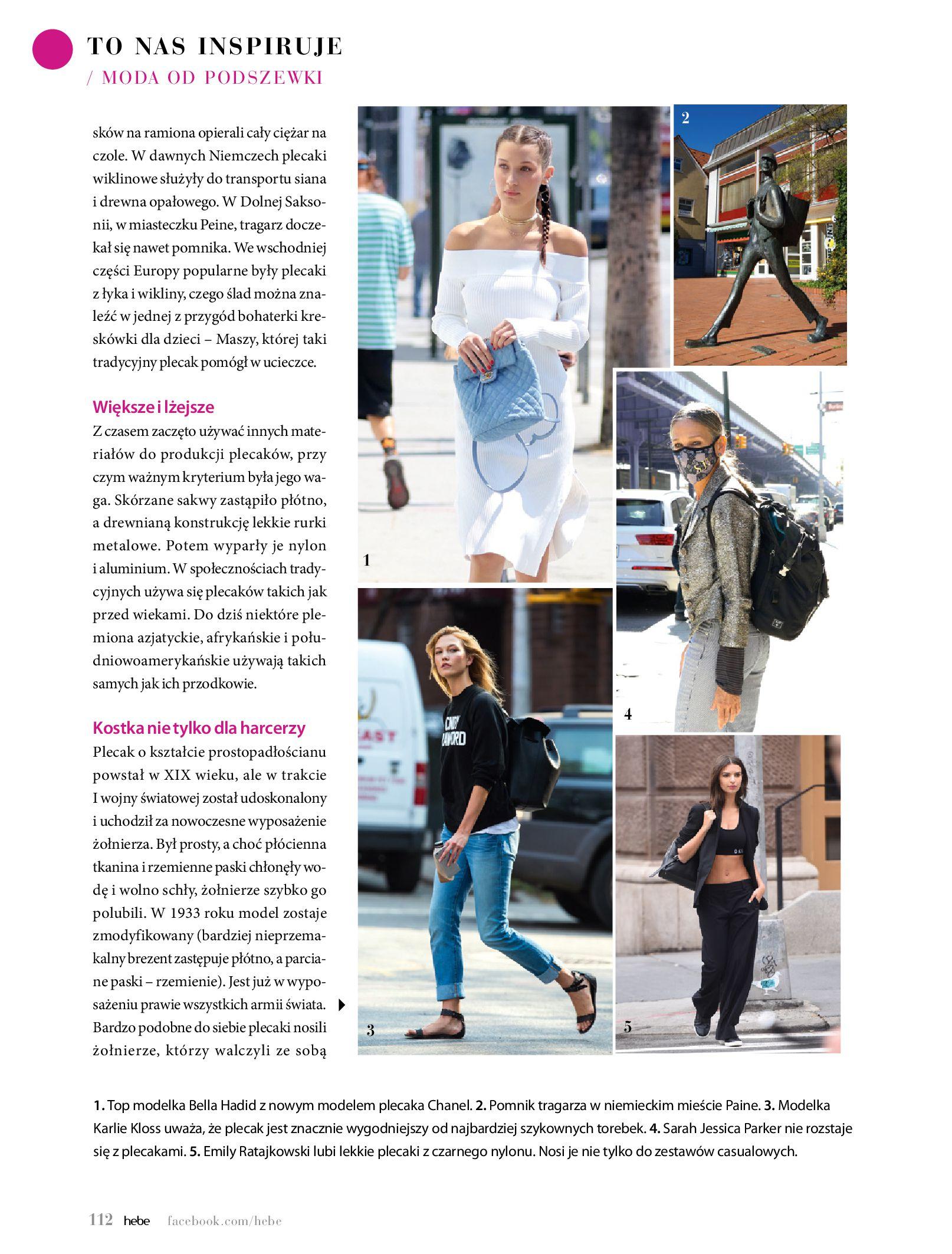 Gazetka hebe: Magazyn Hebe - Trendy na lato 2021-07-01 page-112