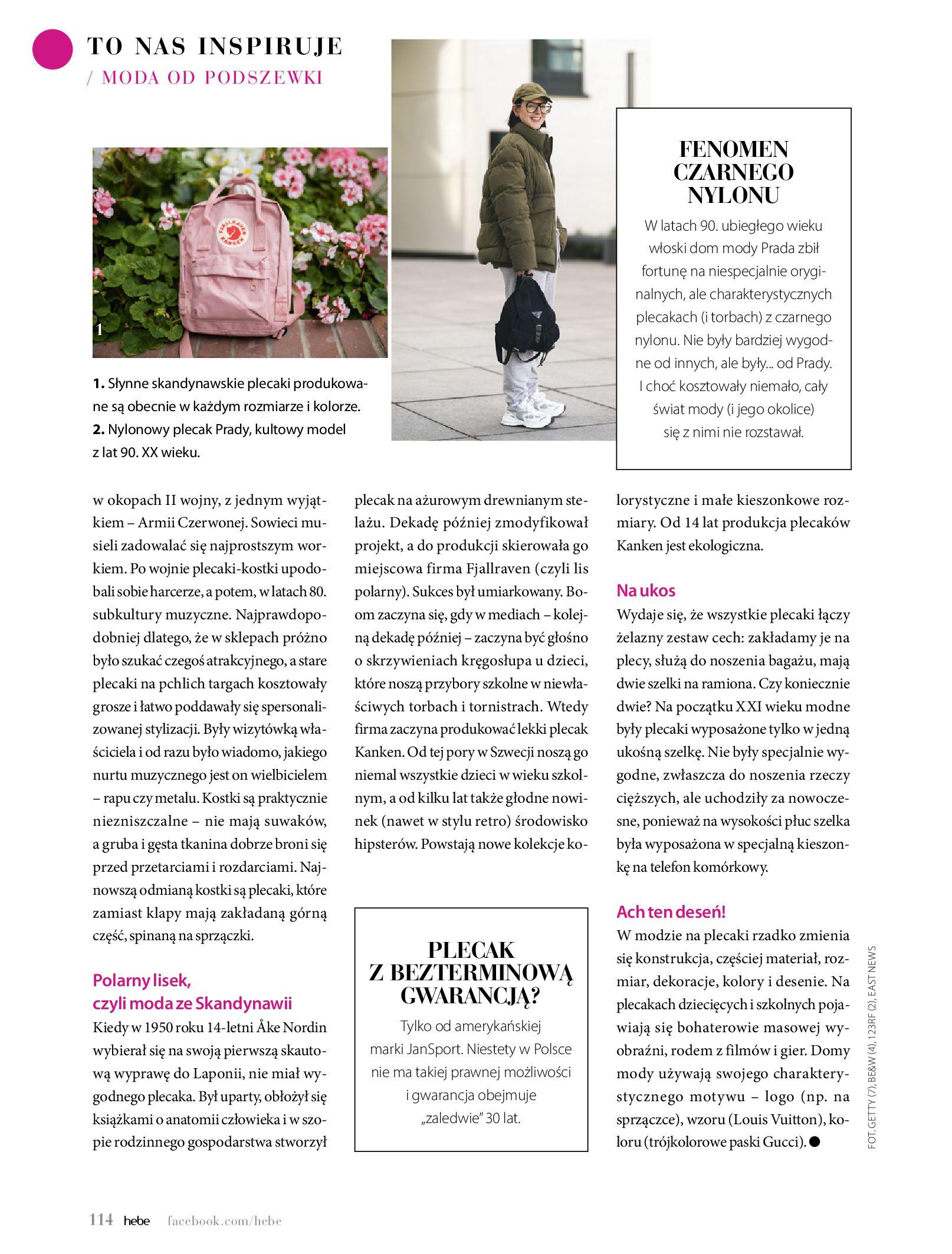 Gazetka hebe: Magazyn Hebe - Trendy na lato 2021-07-01 page-114