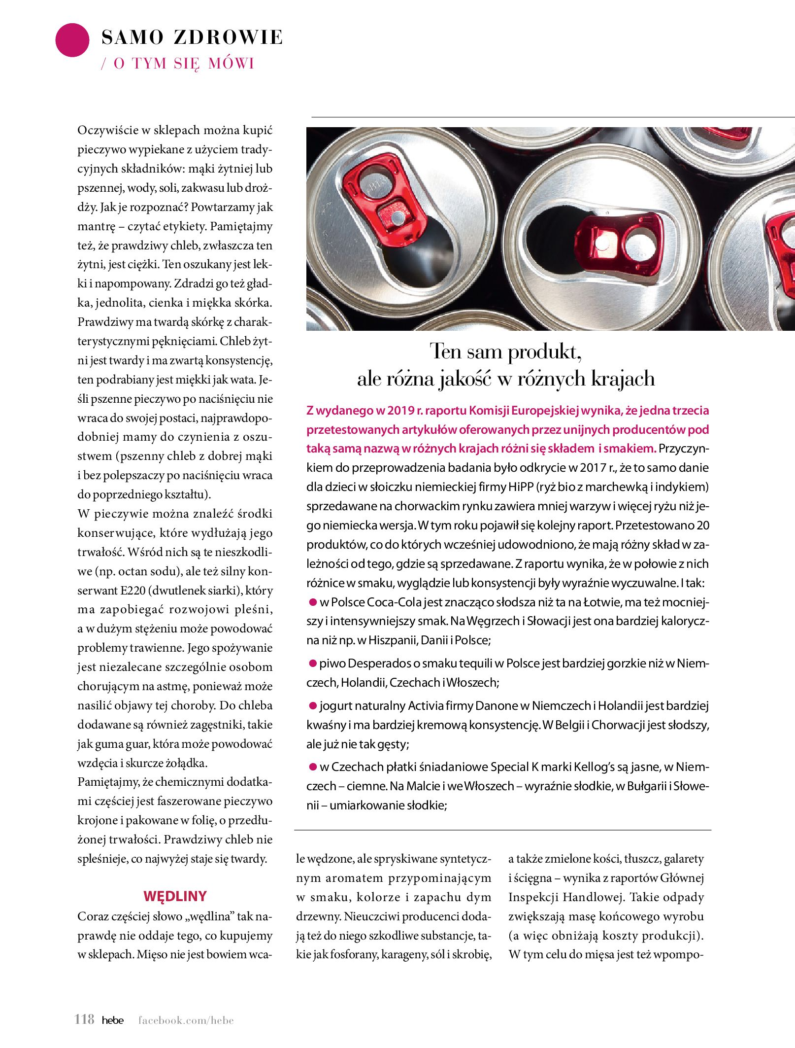 Gazetka hebe: Magazyn Hebe - Trendy na lato 2021-07-01 page-118