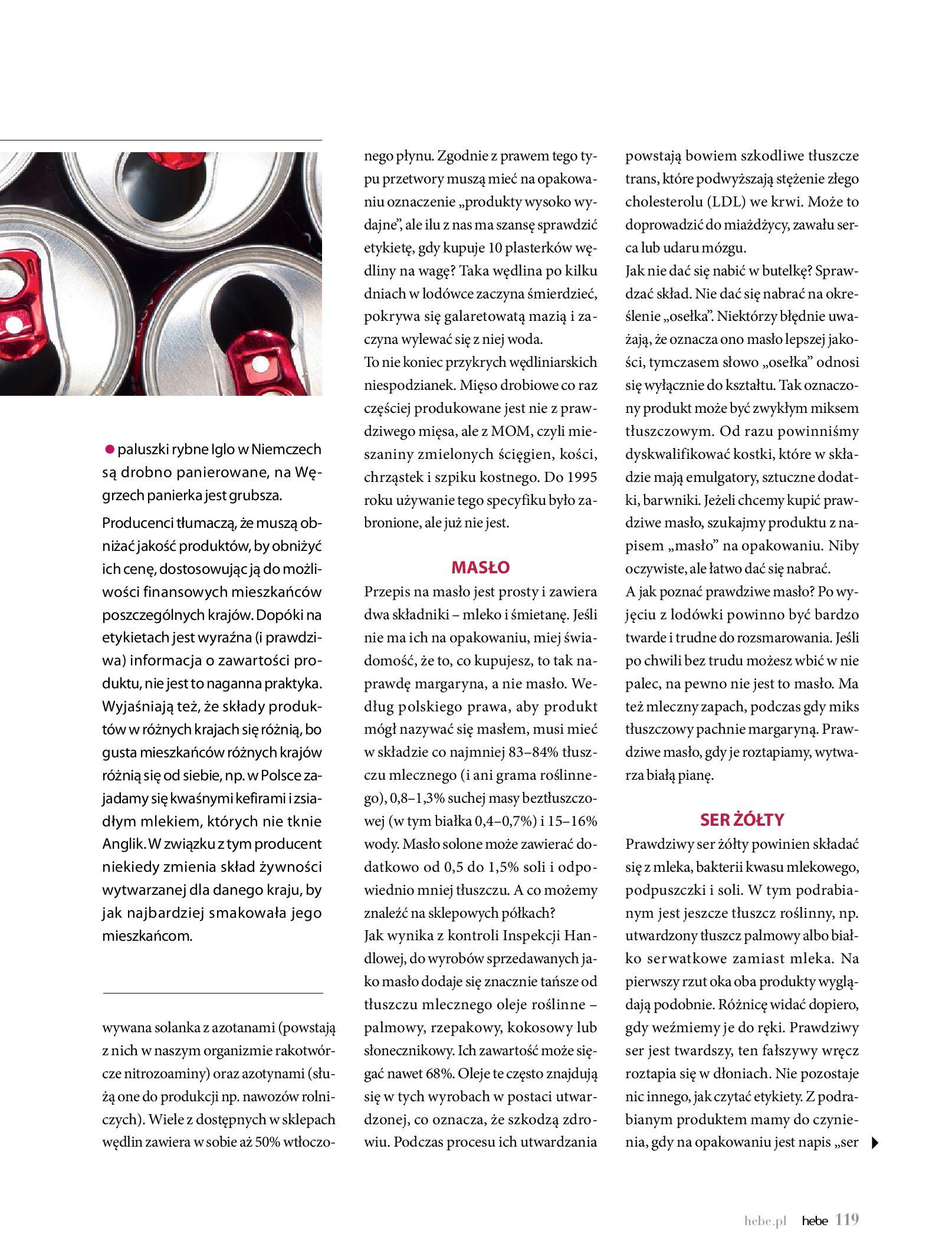 Gazetka hebe: Magazyn Hebe - Trendy na lato 2021-07-01 page-119