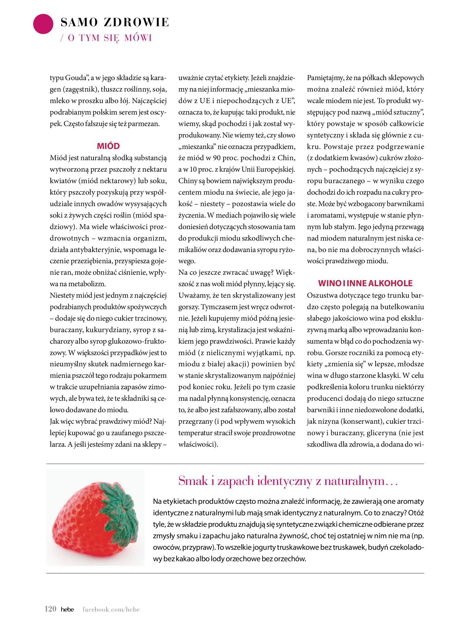 Gazetka hebe: Magazyn Hebe - Trendy na lato 2021-07-01 page-120