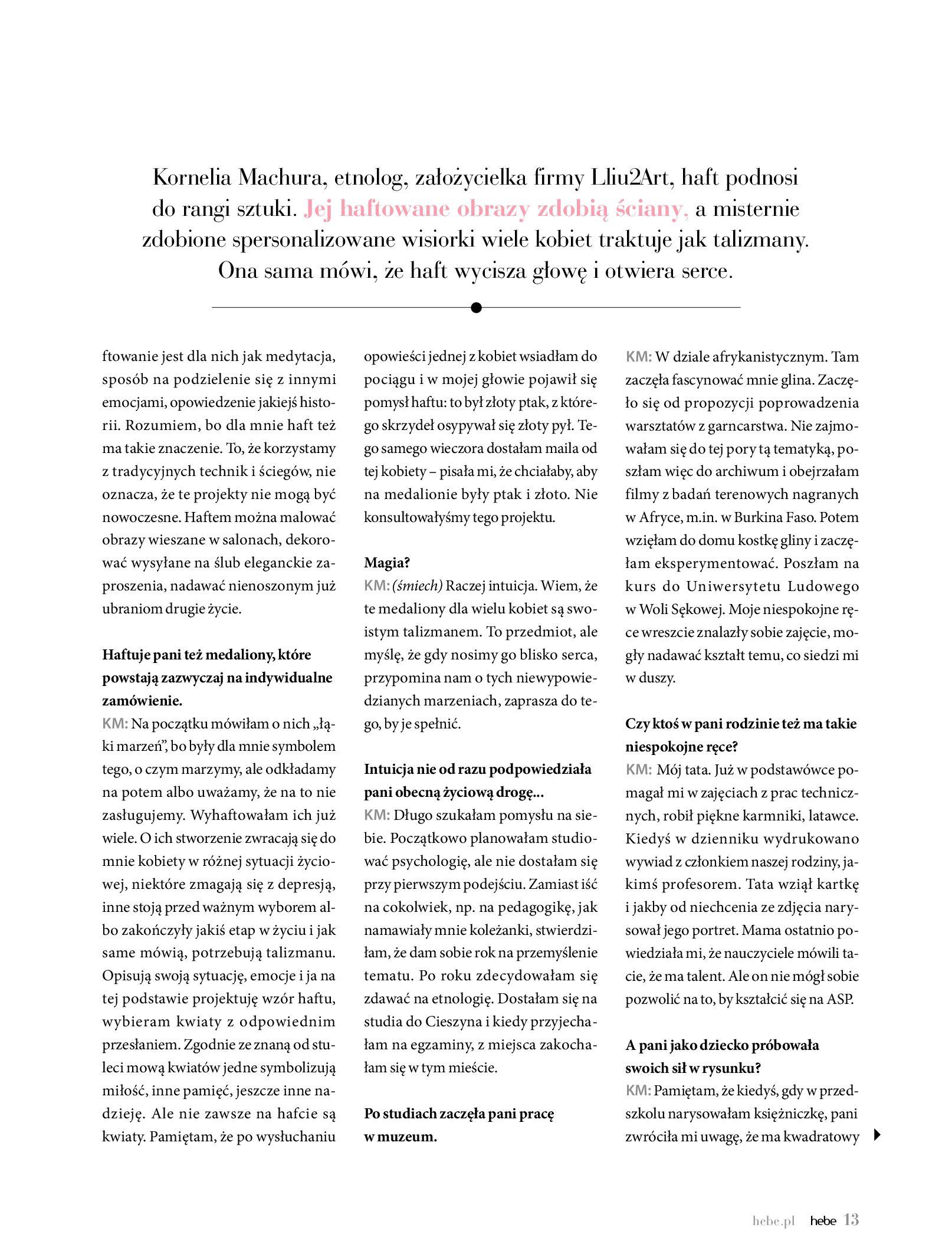 Gazetka hebe: Magazyn Hebe - Trendy na lato 2021-07-01 page-13