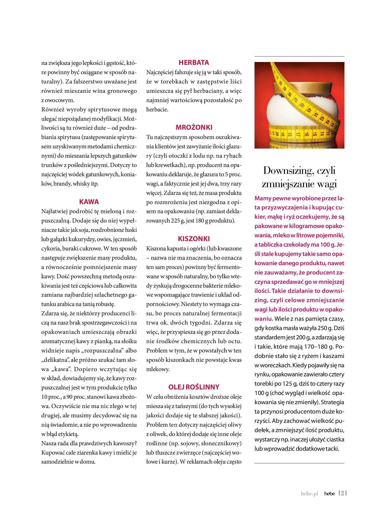 Gazetka hebe: Magazyn Hebe - Trendy na lato 2021-07-01 page-121