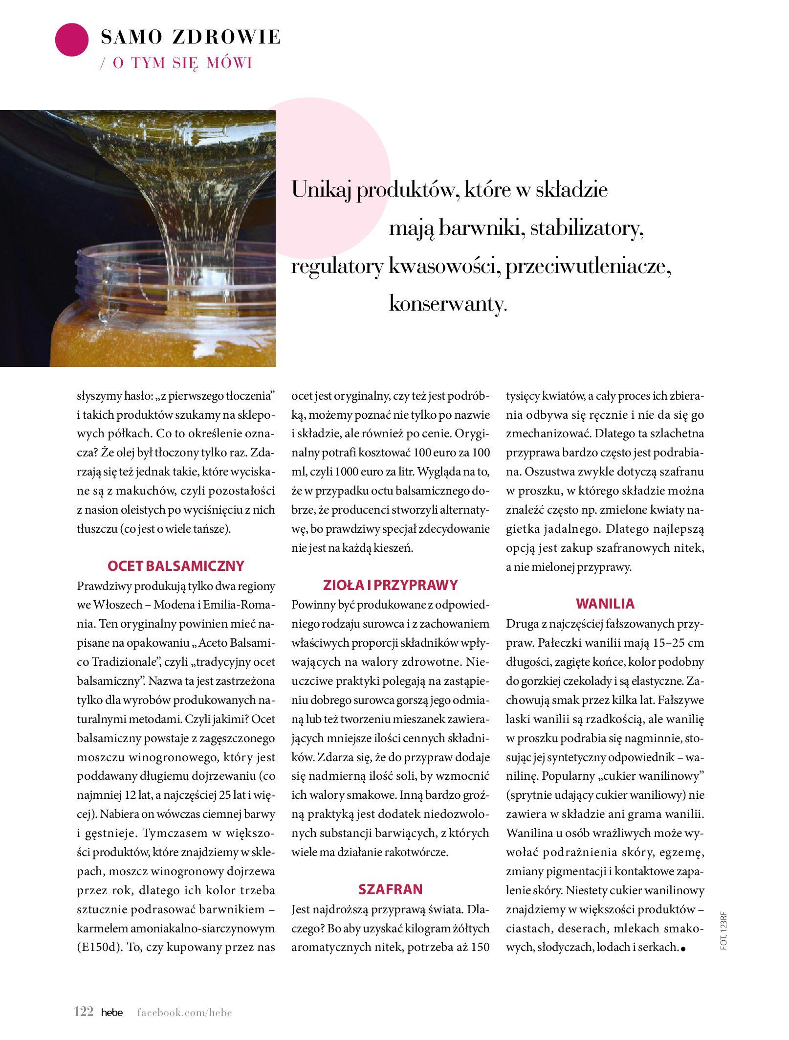 Gazetka hebe: Magazyn Hebe - Trendy na lato 2021-07-01 page-122