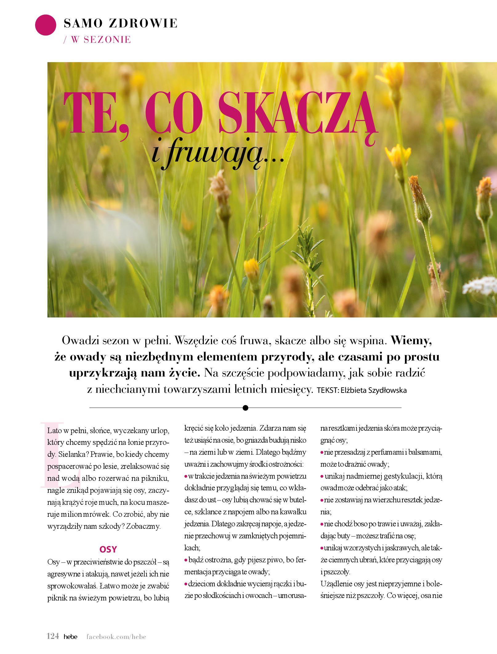 Gazetka hebe: Magazyn Hebe - Trendy na lato 2021-07-01 page-124