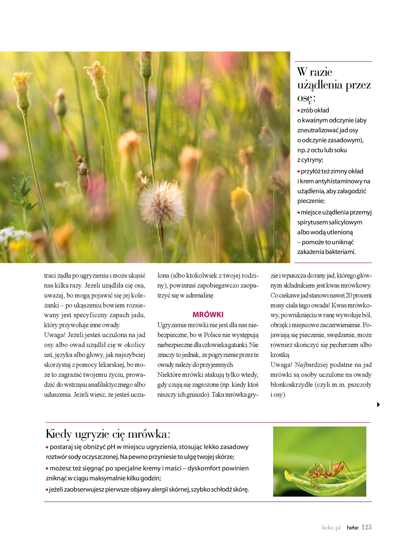 Gazetka hebe: Magazyn Hebe - Trendy na lato 2021-07-01 page-125