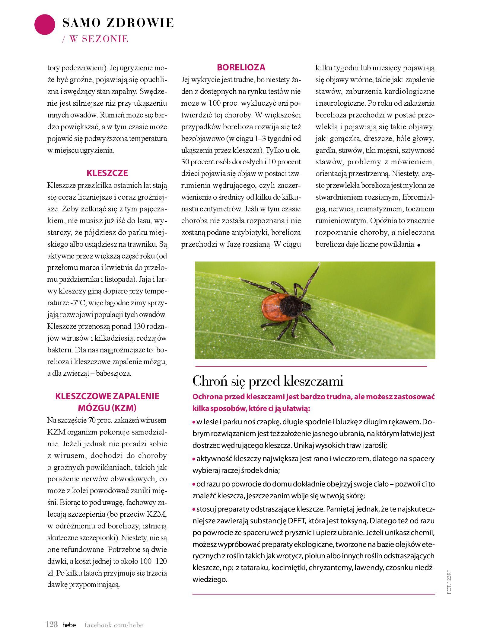 Gazetka hebe: Magazyn Hebe - Trendy na lato 2021-07-01 page-128