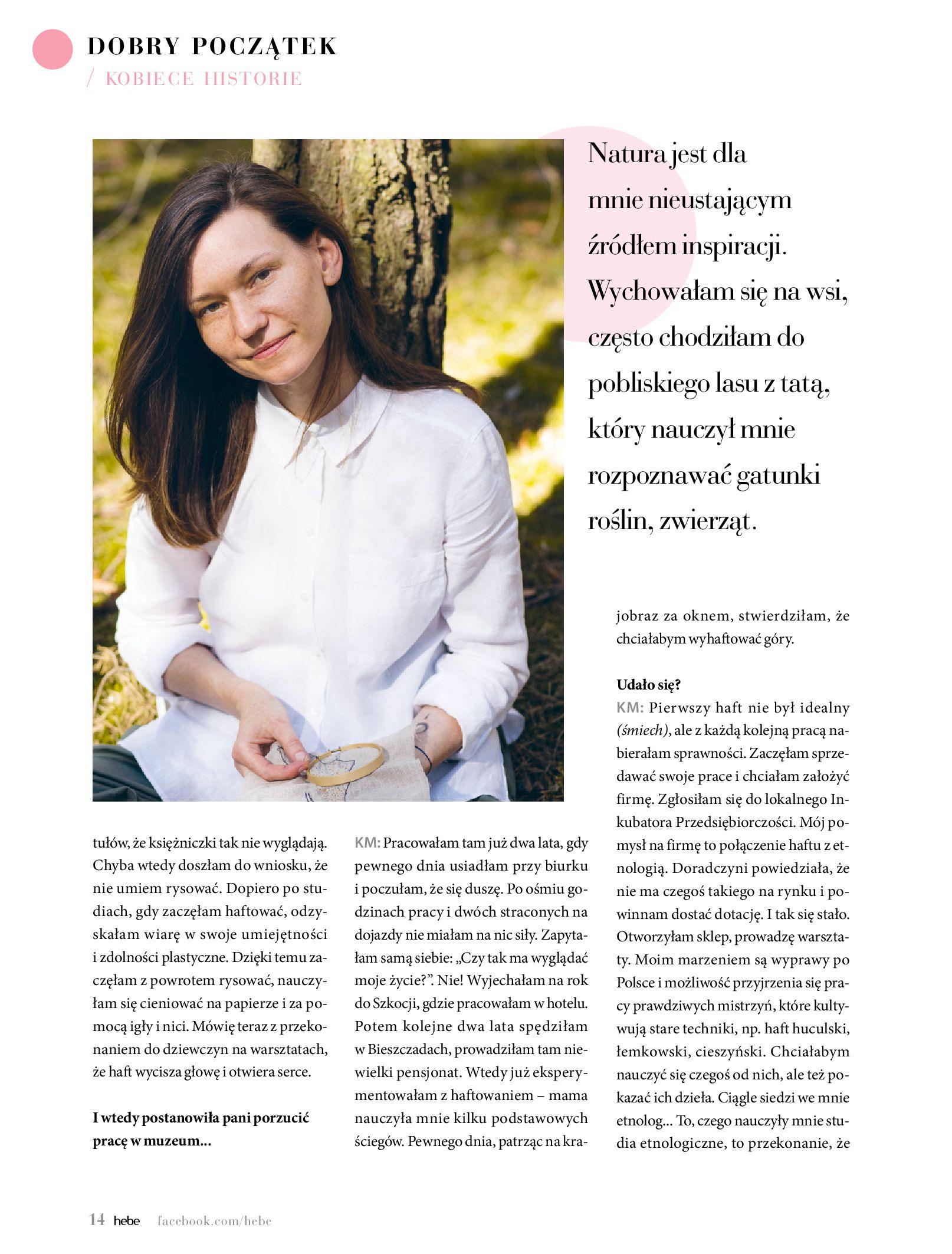 Gazetka hebe: Magazyn Hebe - Trendy na lato 2021-07-01 page-14