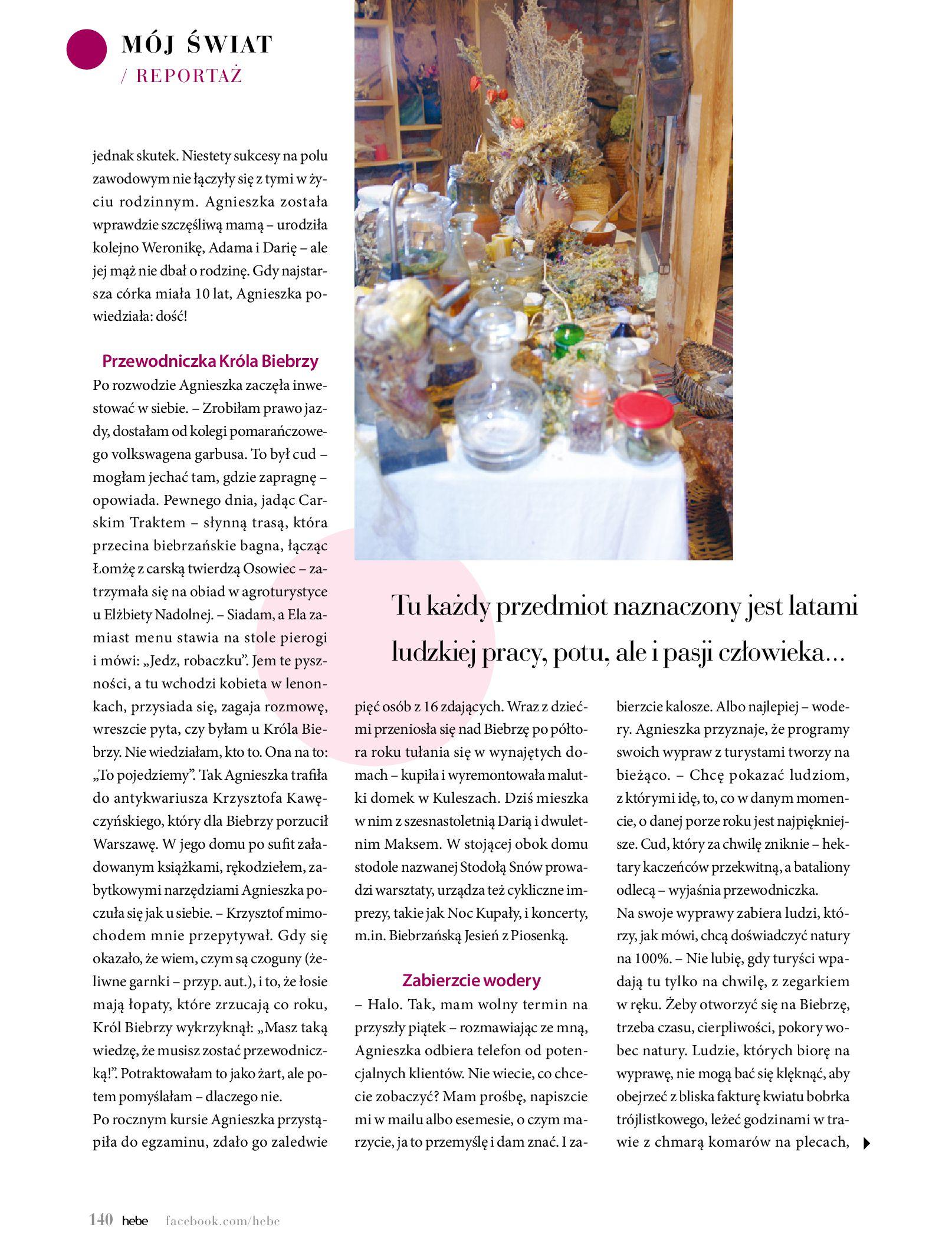 Gazetka hebe: Magazyn Hebe - Trendy na lato 2021-07-01 page-140