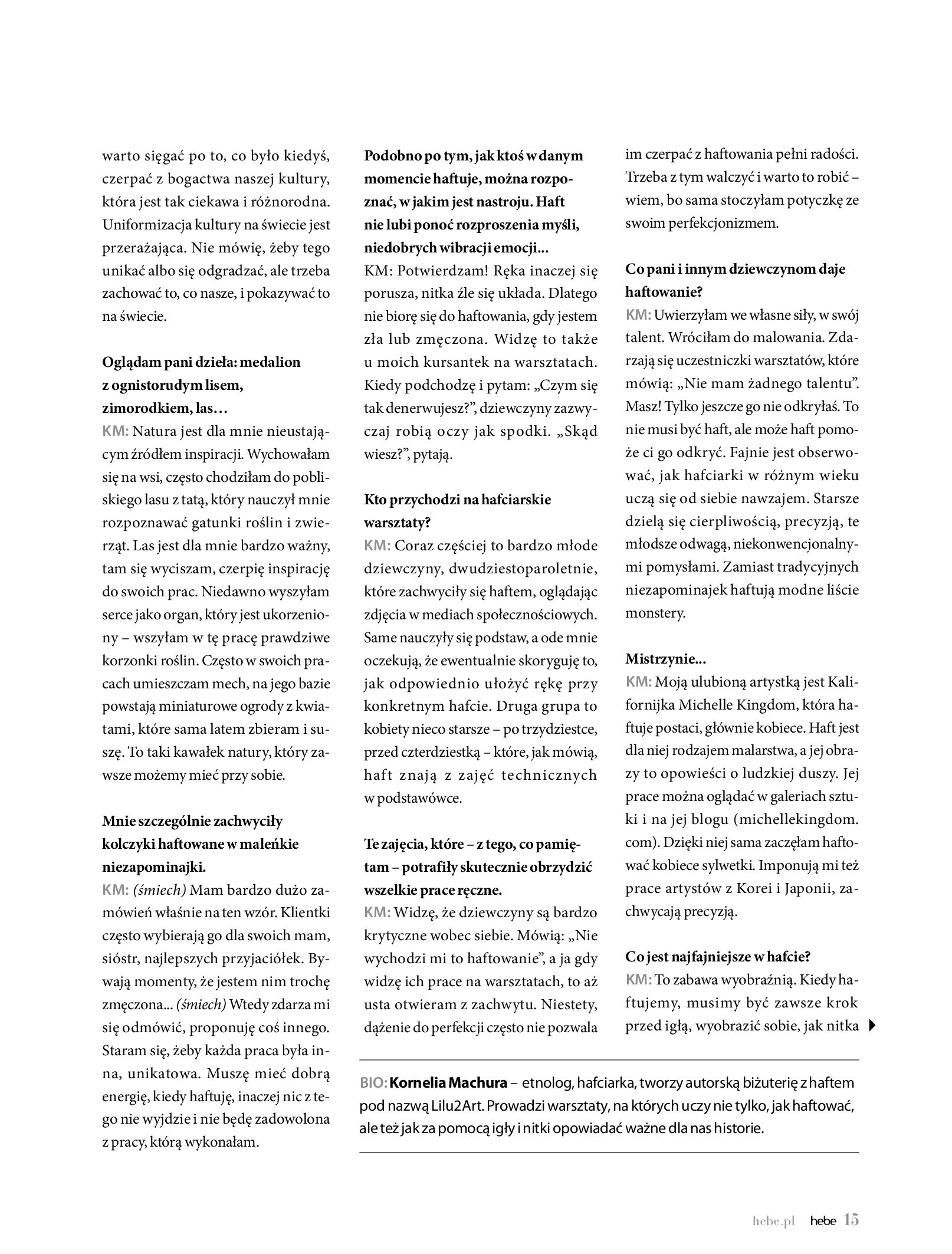 Gazetka hebe: Magazyn Hebe - Trendy na lato 2021-07-01 page-15