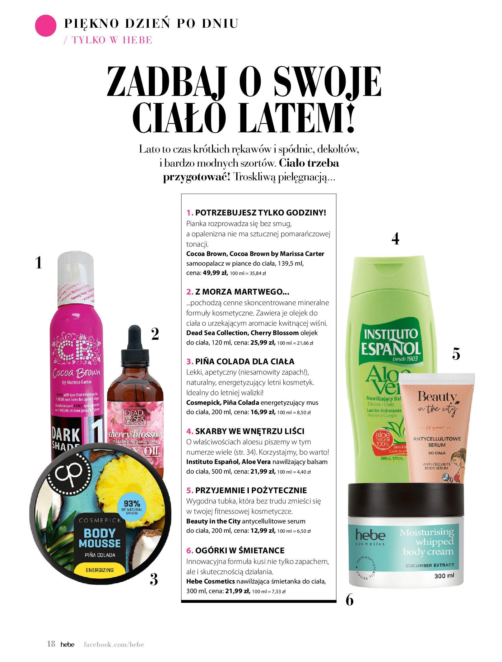 Gazetka hebe: Magazyn Hebe - Trendy na lato 2021-07-01 page-18