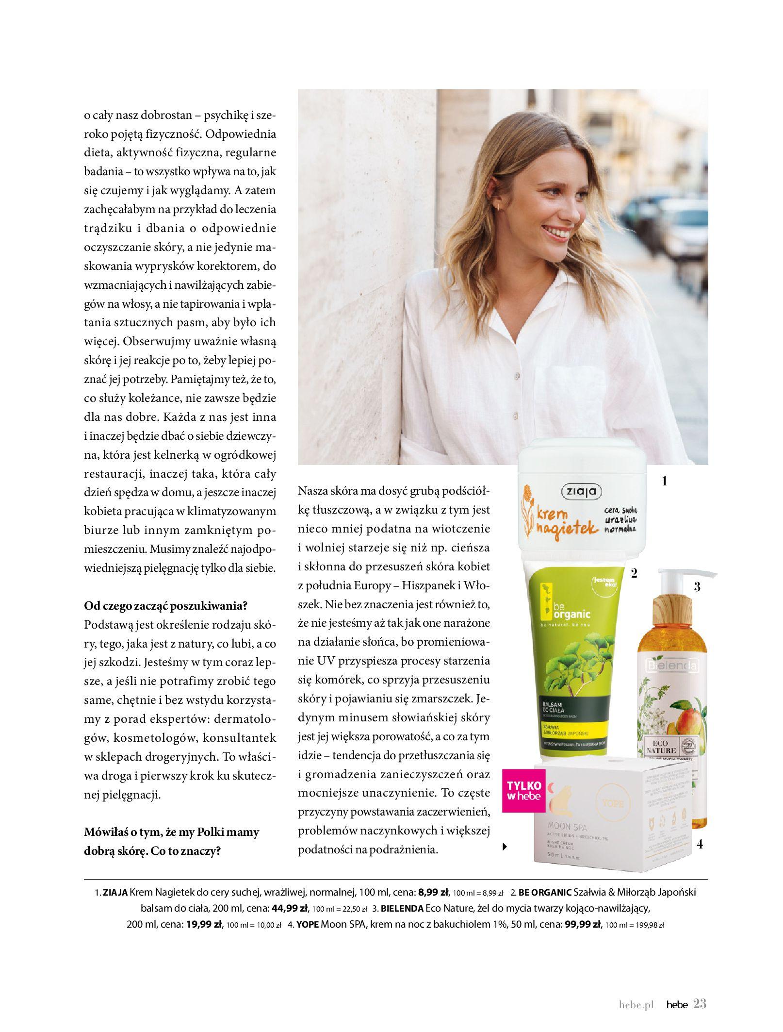 Gazetka hebe: Magazyn Hebe - Trendy na lato 2021-07-01 page-23