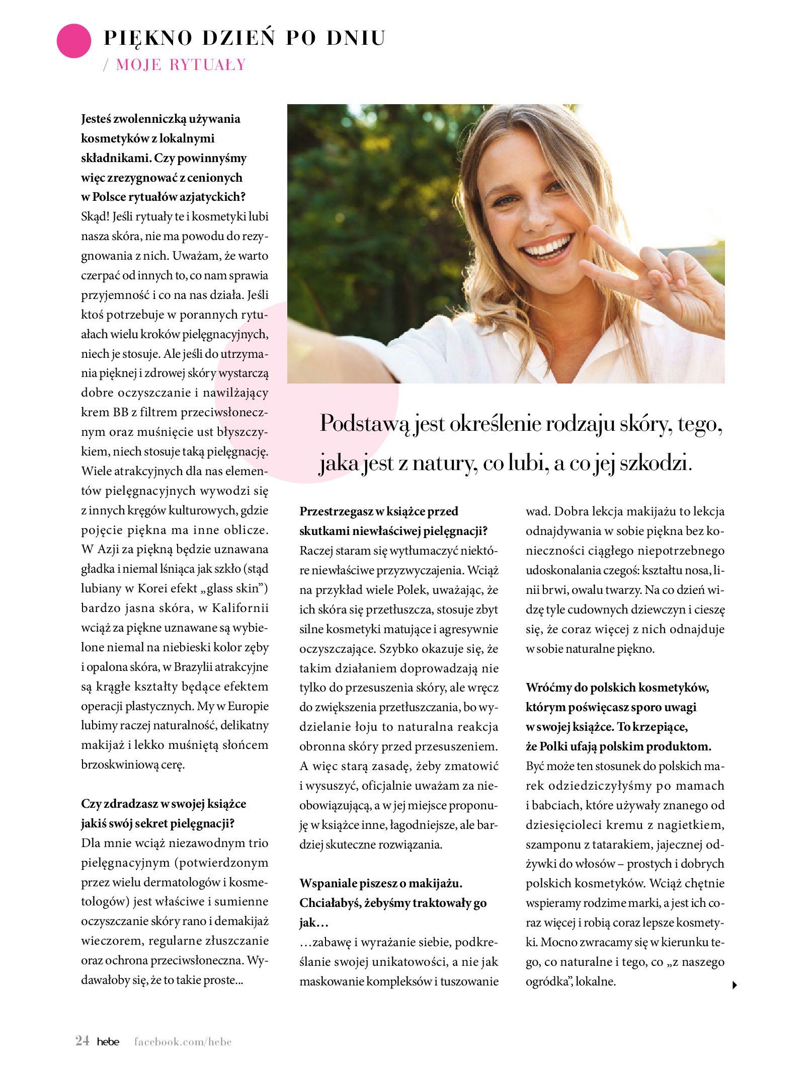Gazetka hebe: Magazyn Hebe - Trendy na lato 2021-07-01 page-24