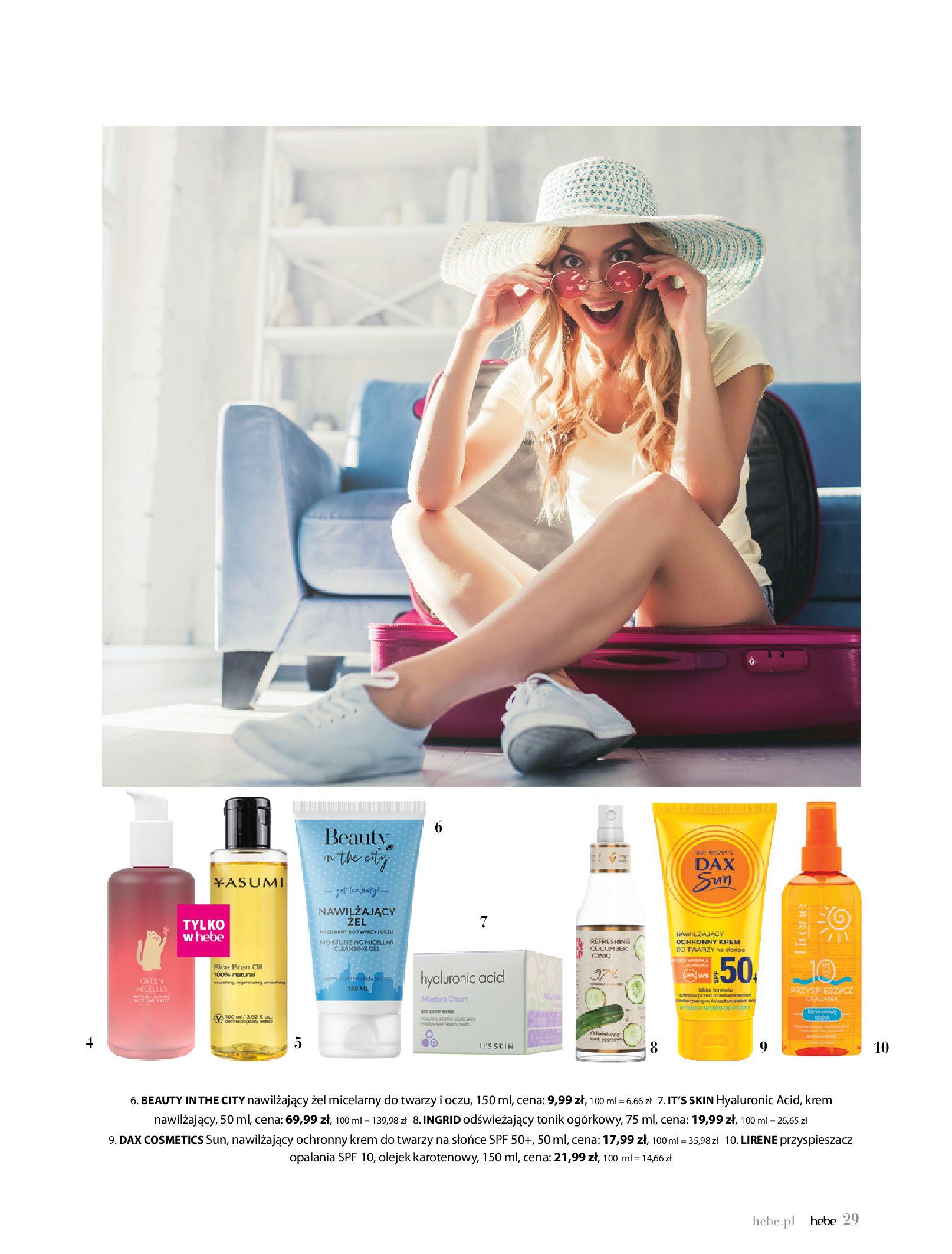 Gazetka hebe: Magazyn Hebe - Trendy na lato 2021-07-01 page-29