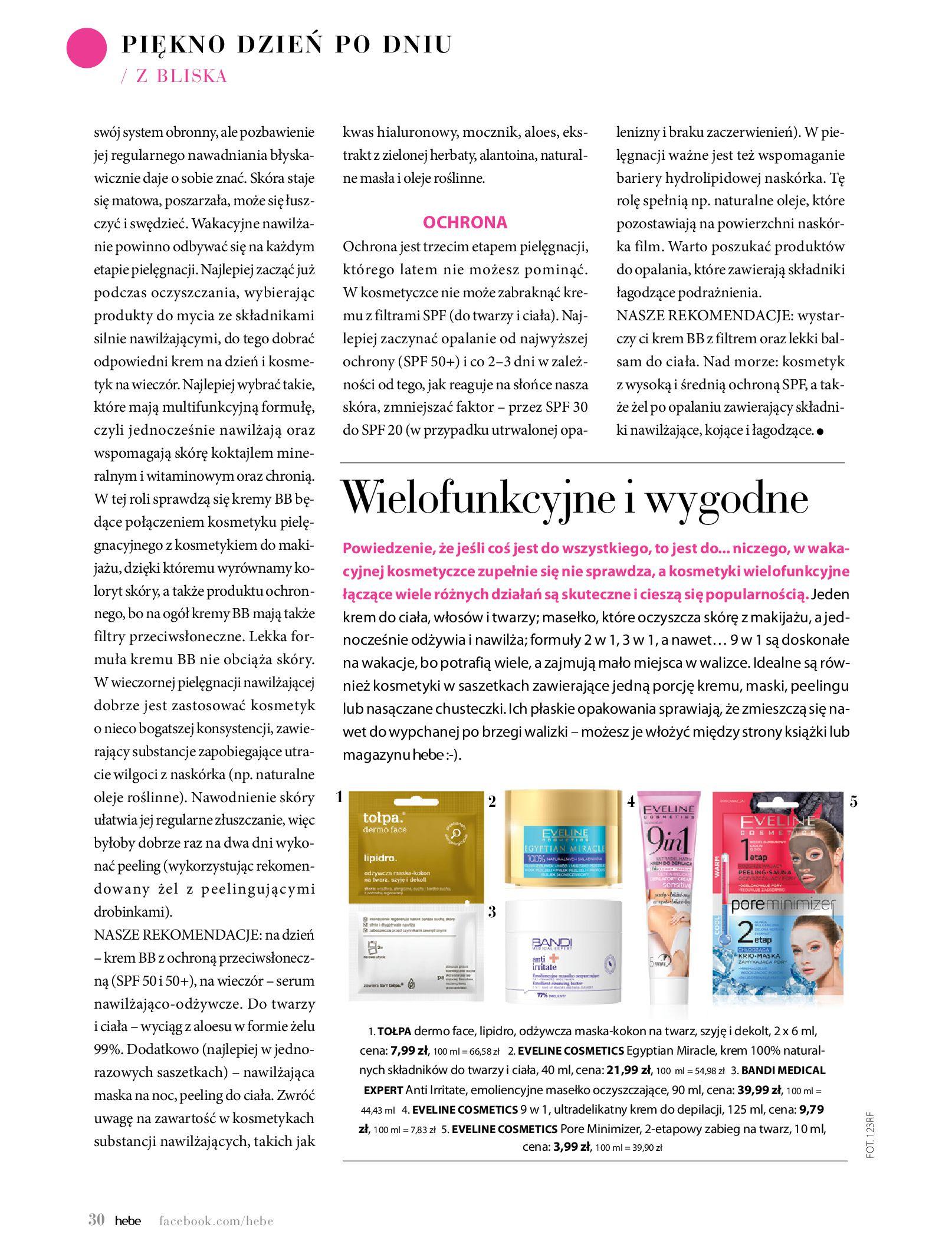 Gazetka hebe: Magazyn Hebe - Trendy na lato 2021-07-01 page-30