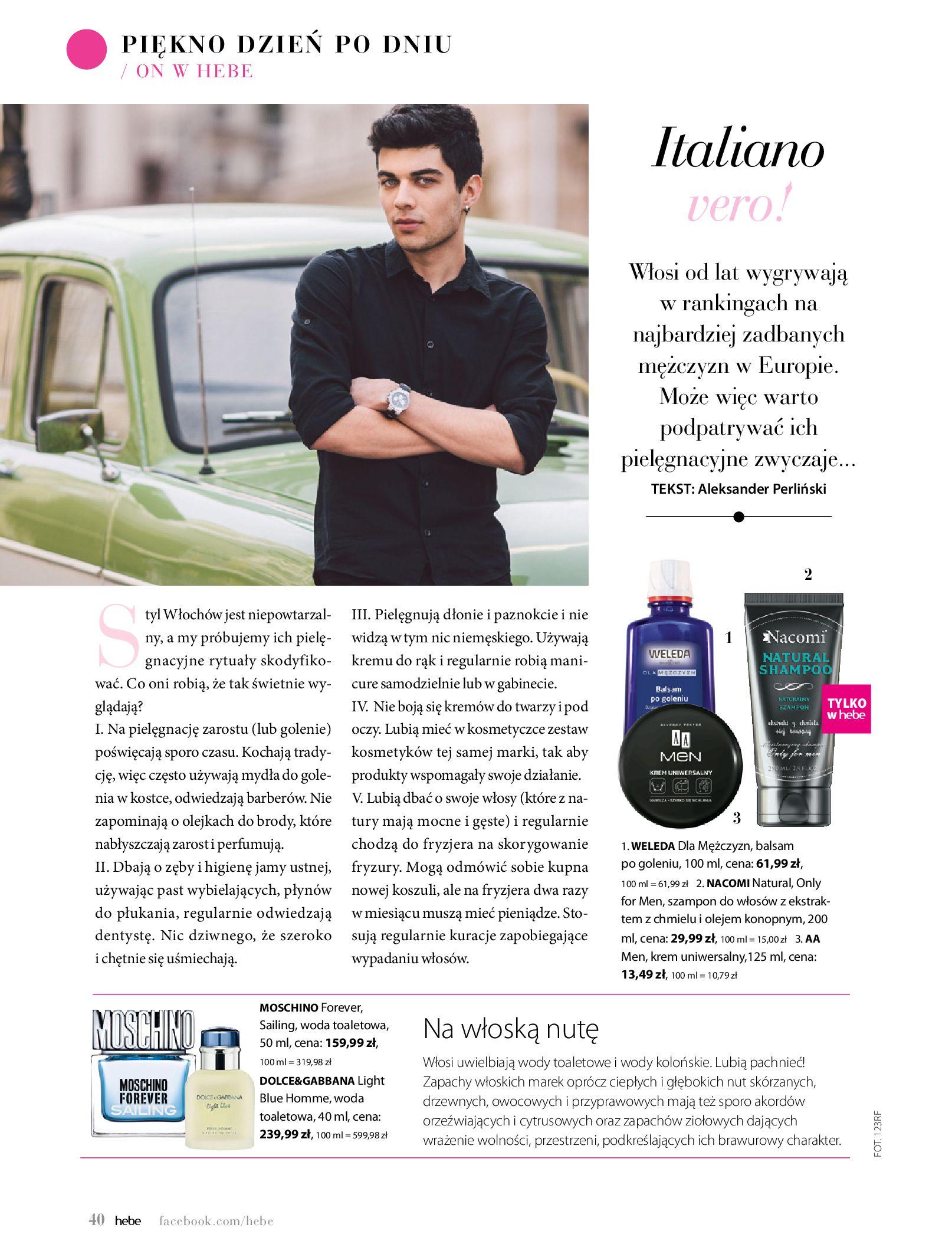 Gazetka hebe: Magazyn Hebe - Trendy na lato 2021-07-01 page-40