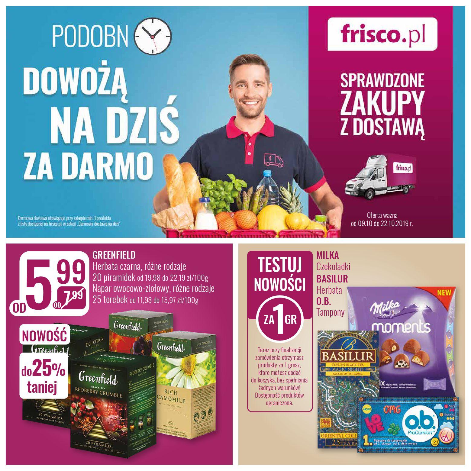 Gazetka Frisco - Oferta promocyjna-08.10.2019-22.10.2019-page-1