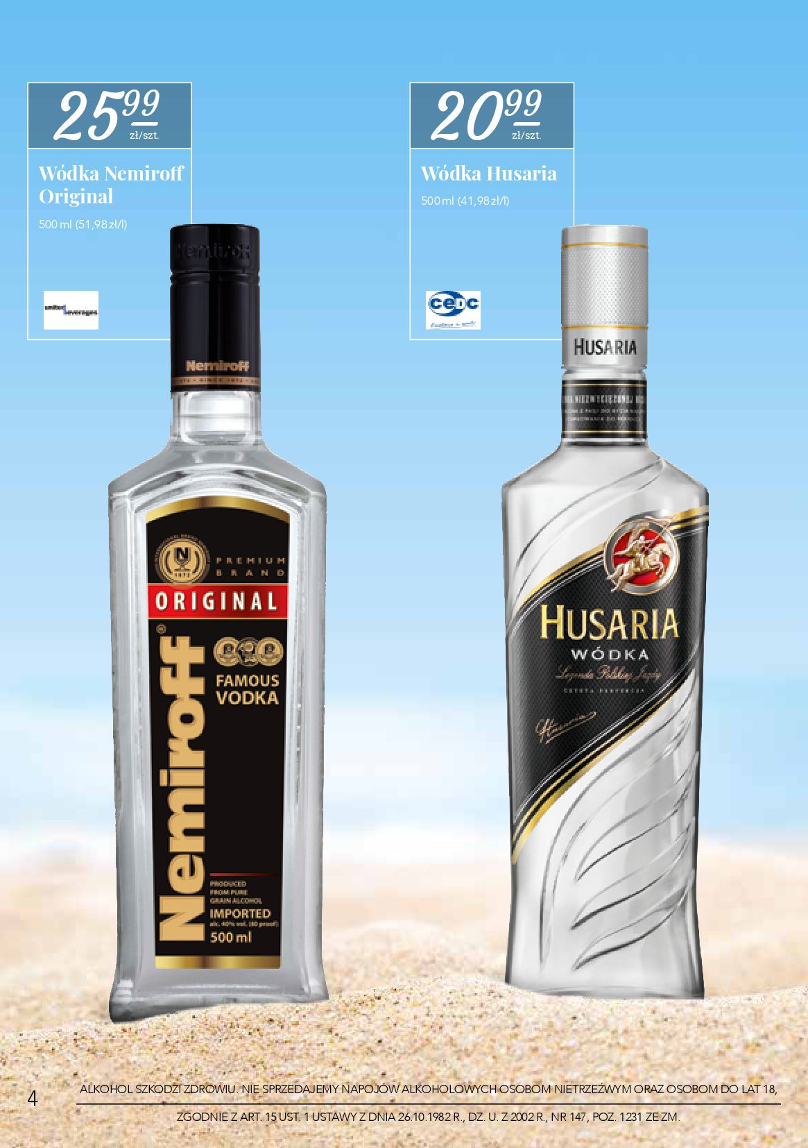 Gazetka Stokrotka Supermarket - Oferta alkoholowa-26.06.2019-17.07.2019-page-