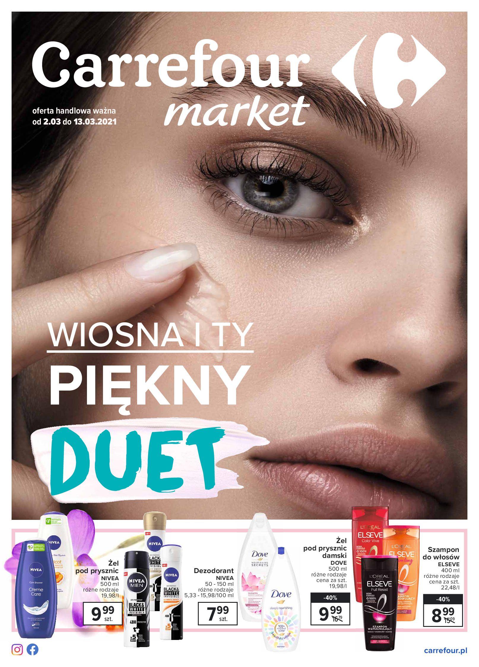 Carrefour Market:  Katalog - Piękny Duet 01.03.2021