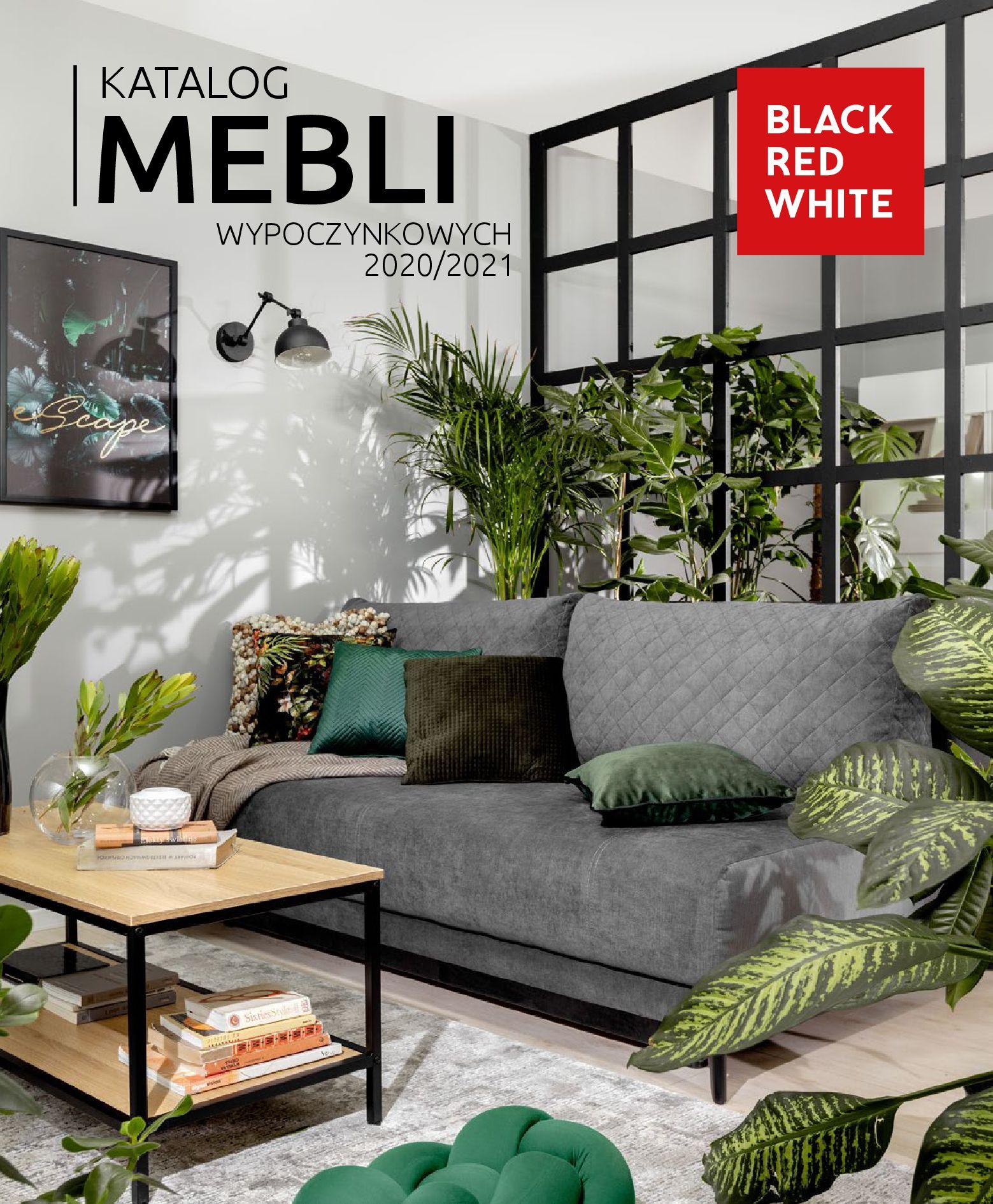 Gazetka Black Red White: Katalog mebli wypoczynkowych 2020/2021 2021-01-13 page-1