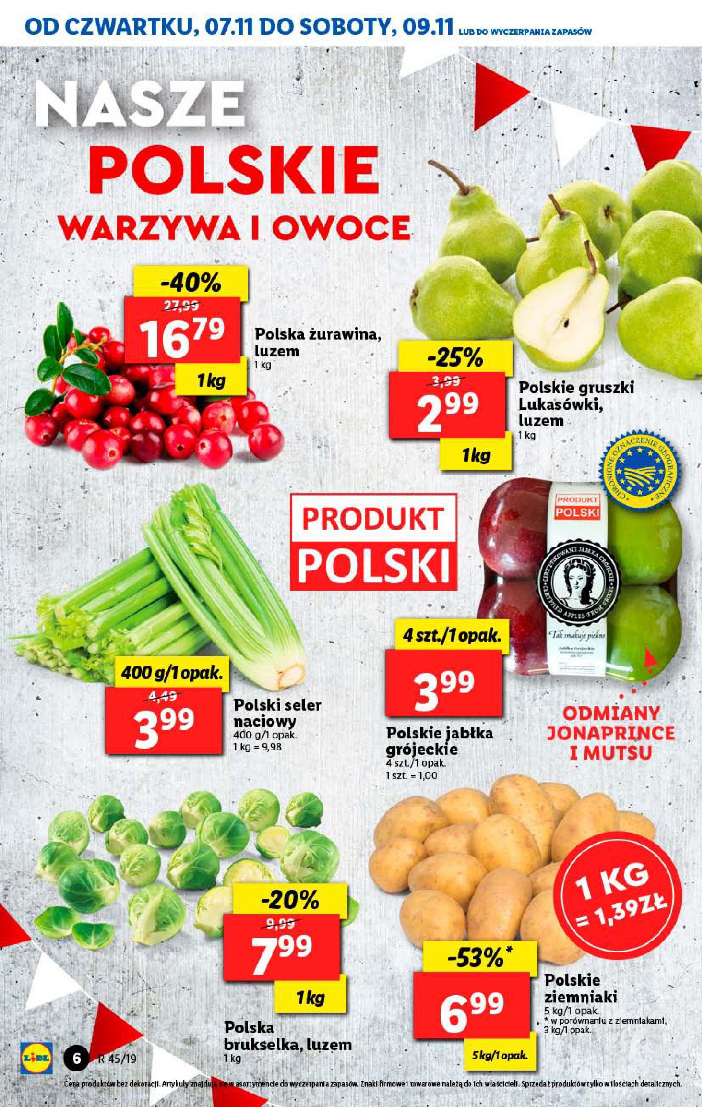 Gazetka Lidl - Od czwartku-06.11.2019-09.11.2019-page-6