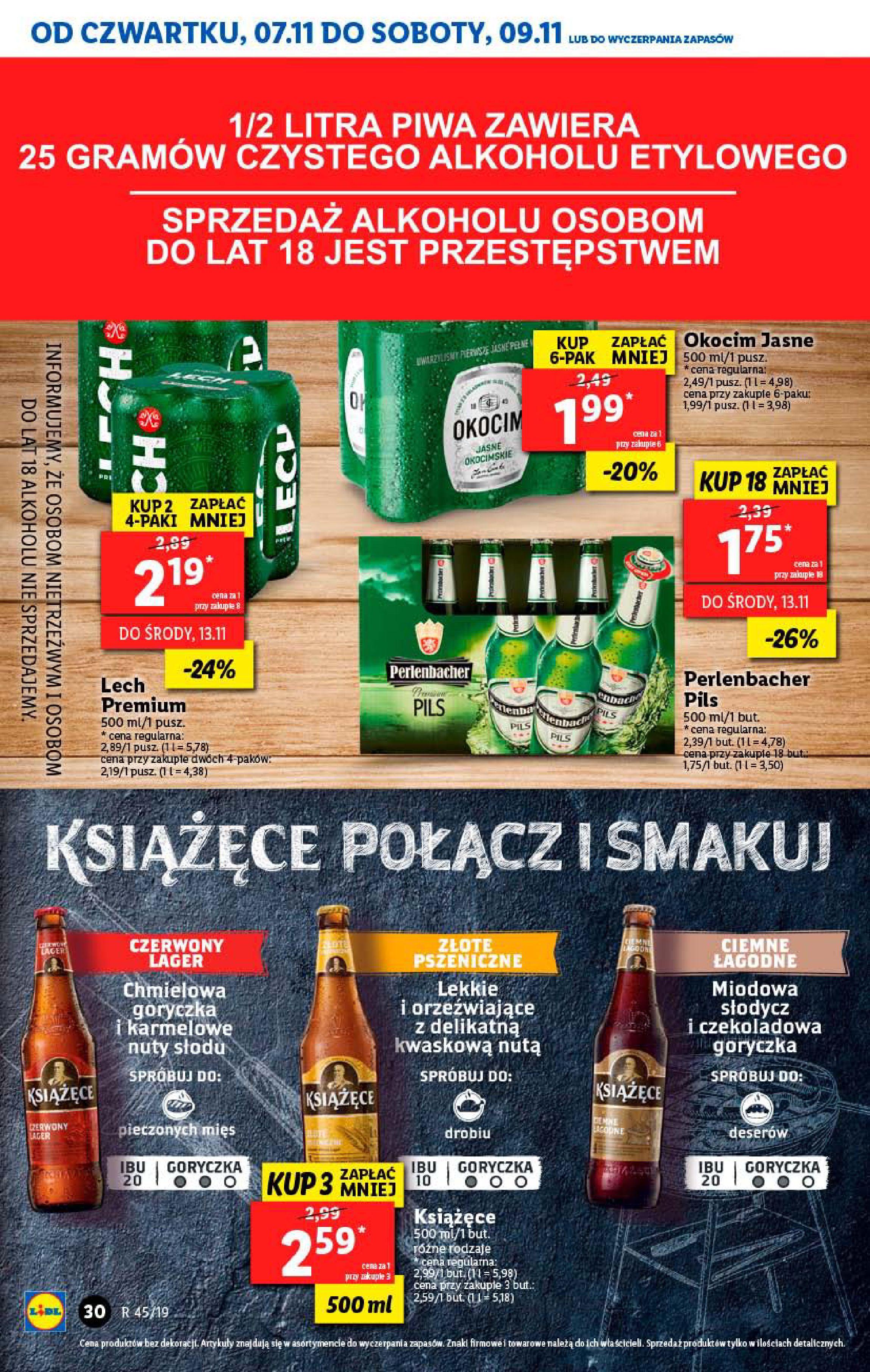 Gazetka Lidl - Od czwartku-06.11.2019-09.11.2019-page-30