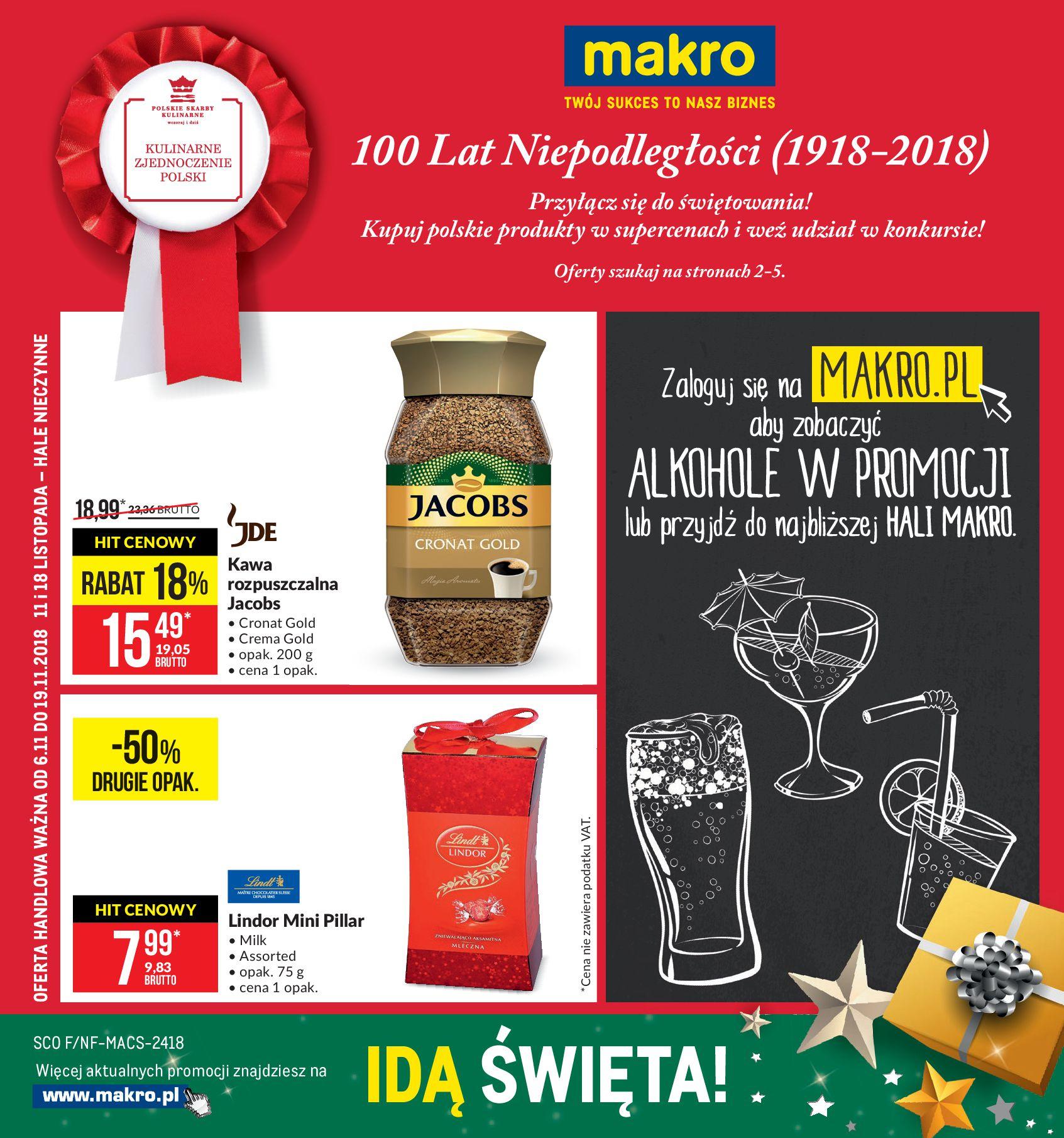 Gazetka Makro - 100 Lat Niepodległości-03.11.2018-19.11.2018-page-
