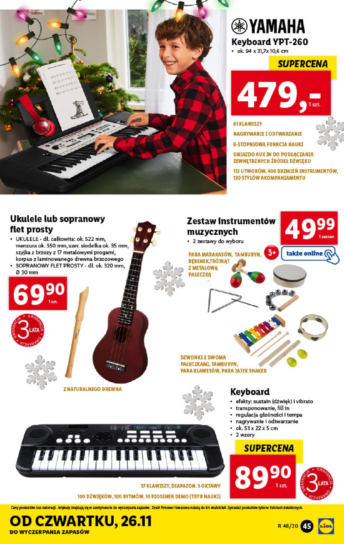 Gazetka Lidl - Katalog od 23.11-22.11.2020-28.11.2020-page-45
